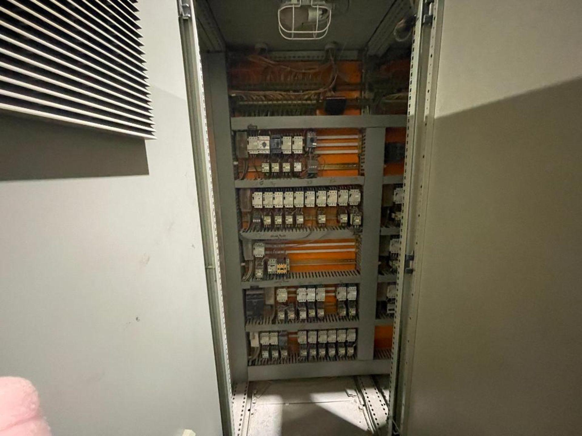 7-door mild steel air conditioned control cabinet, 5-VFD's - Image 25 of 43