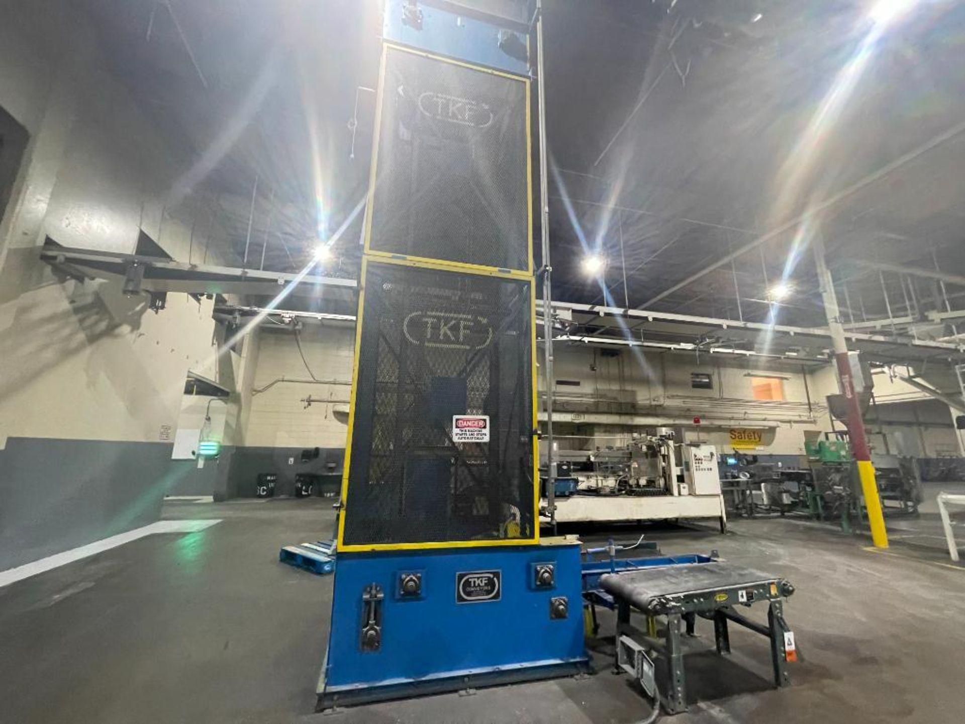 TKF vertical case elevator parts - Image 9 of 14
