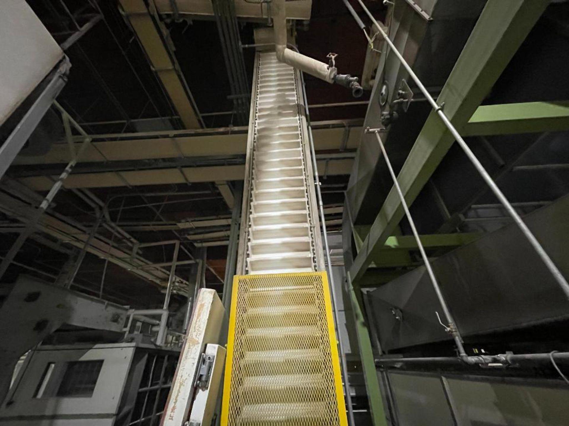 Aseeco overlapping bucket elevator - Image 6 of 14
