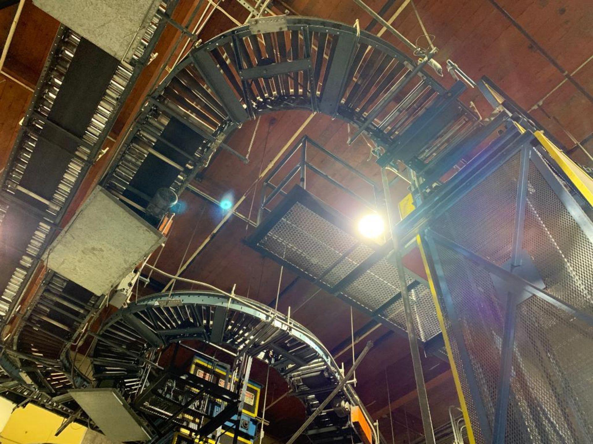 overhead power case conveyor - Image 3 of 3