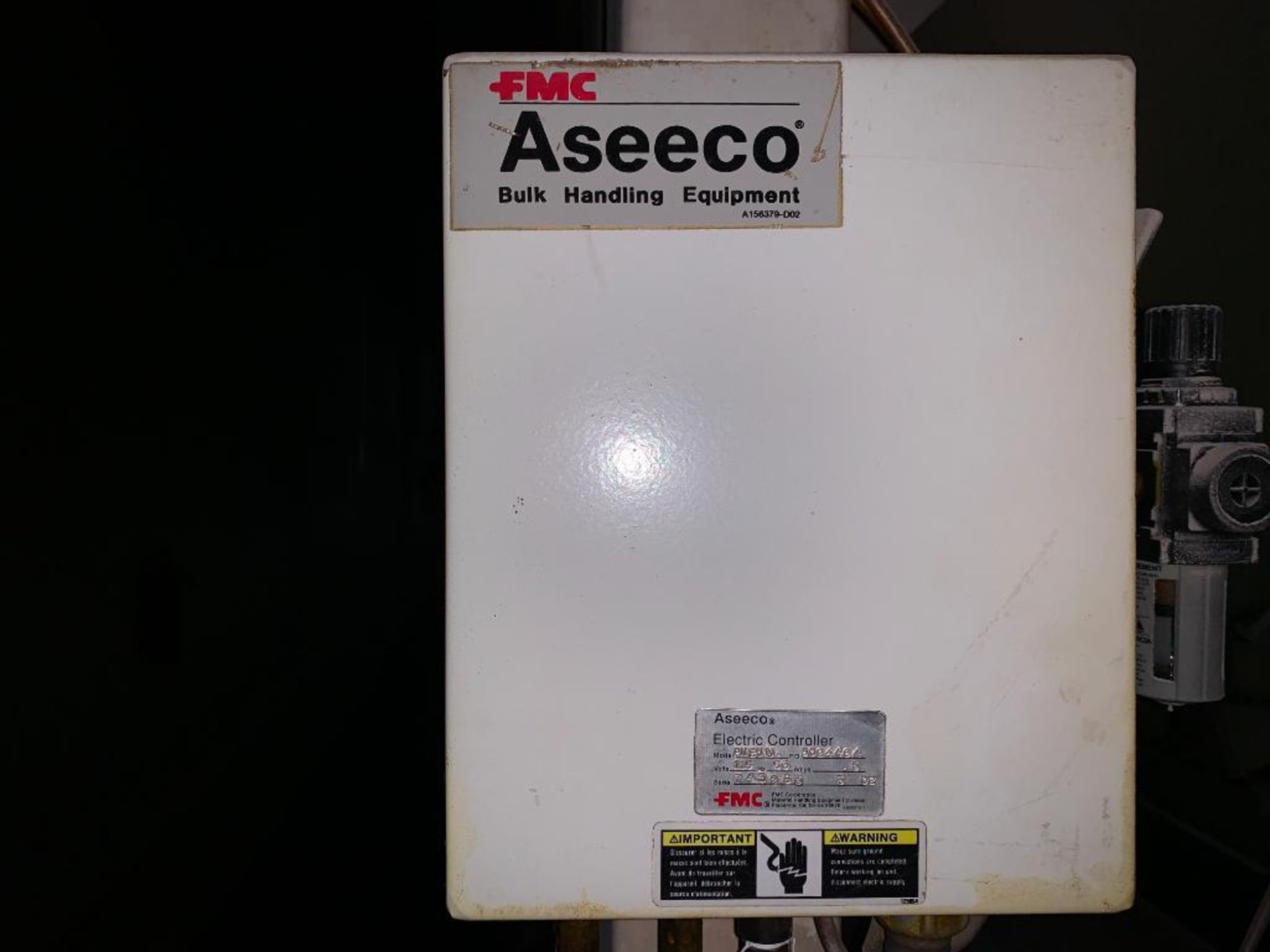 Aseeco mild steel cone bottom bulk storage bin - Image 21 of 25