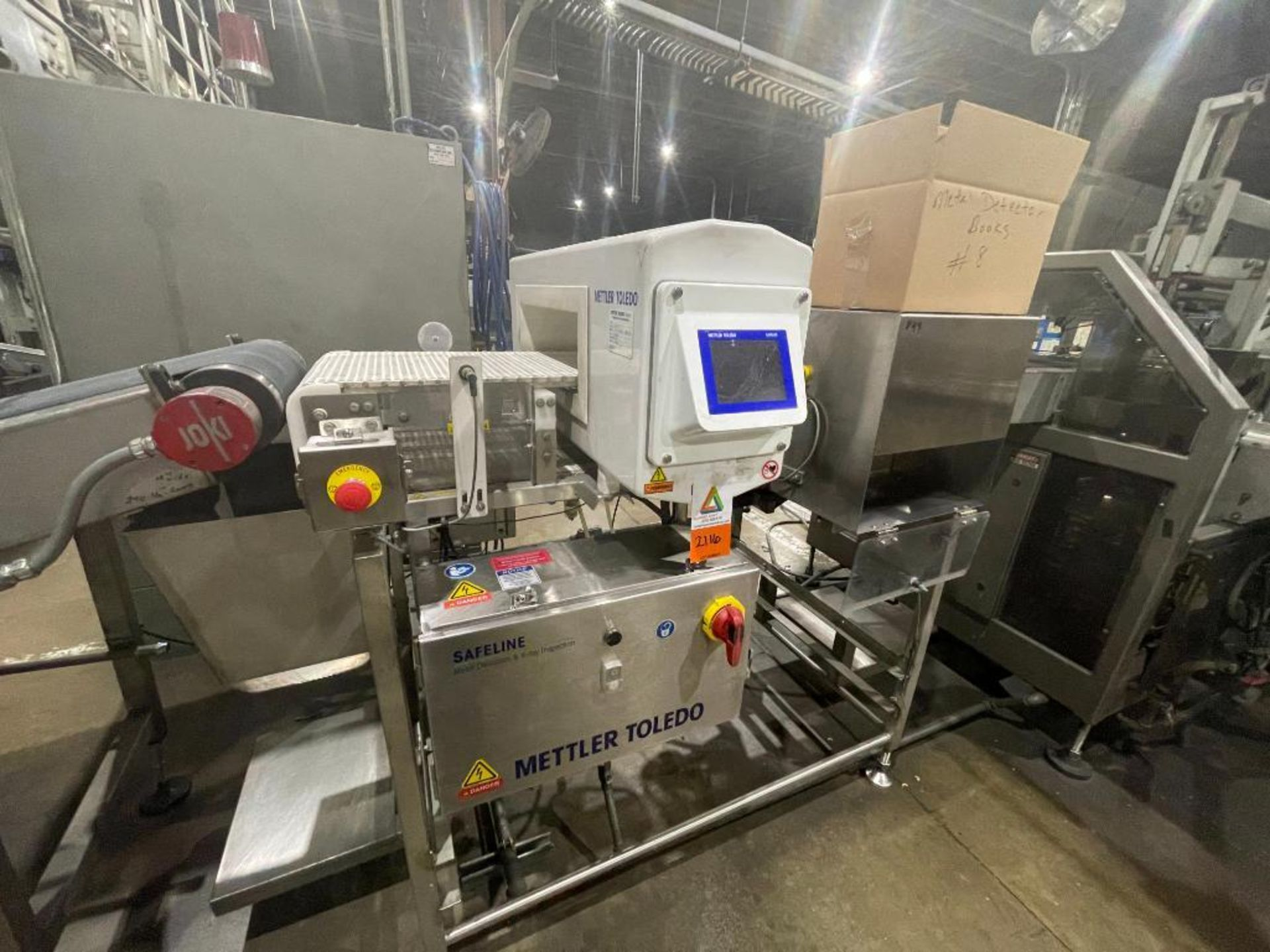 2016 Mettler Toledo metal detector, model SL1500