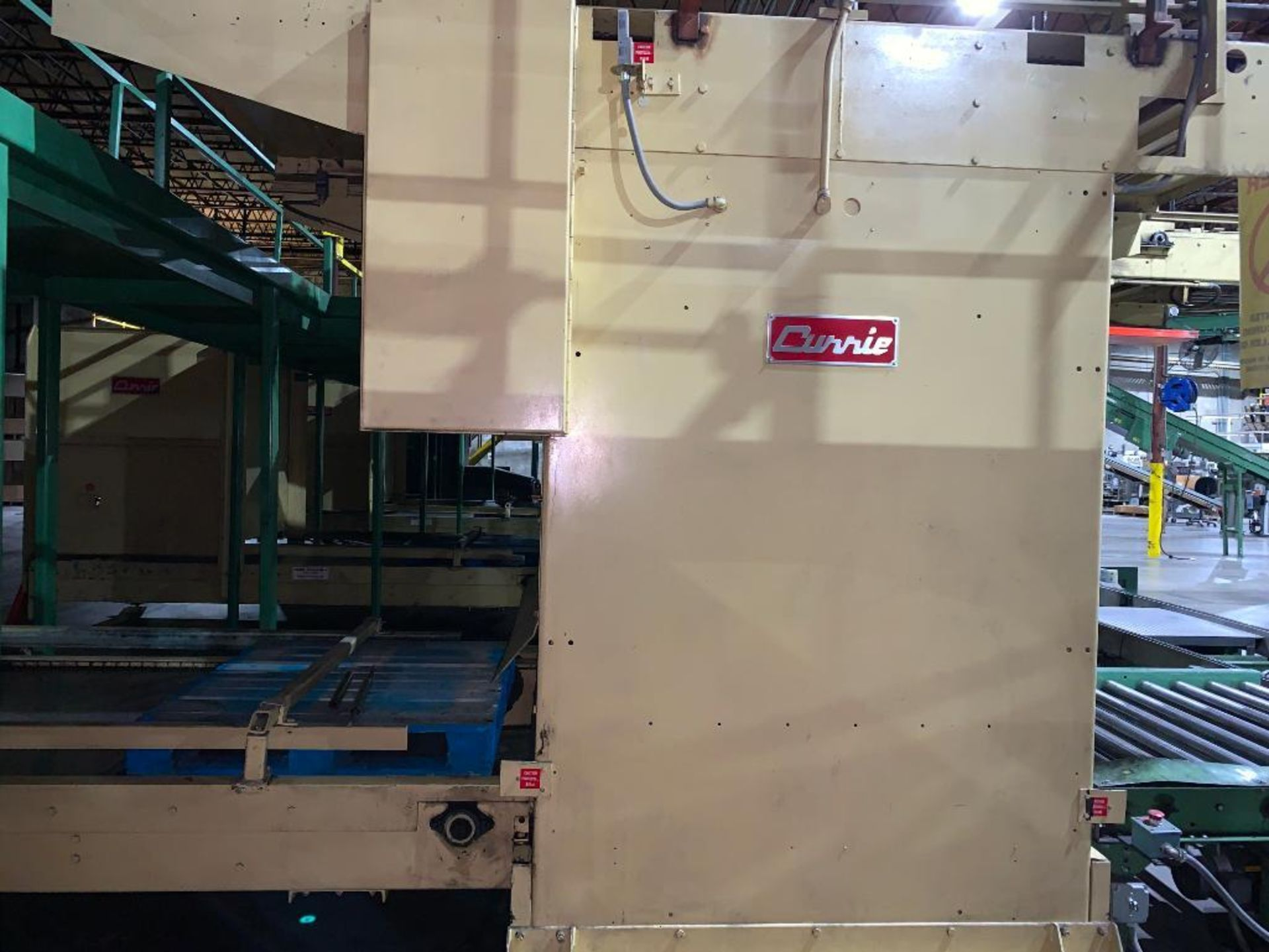1992 Currie top to bottom palletizer, machine number LSP-5-1177 - Image 3 of 53