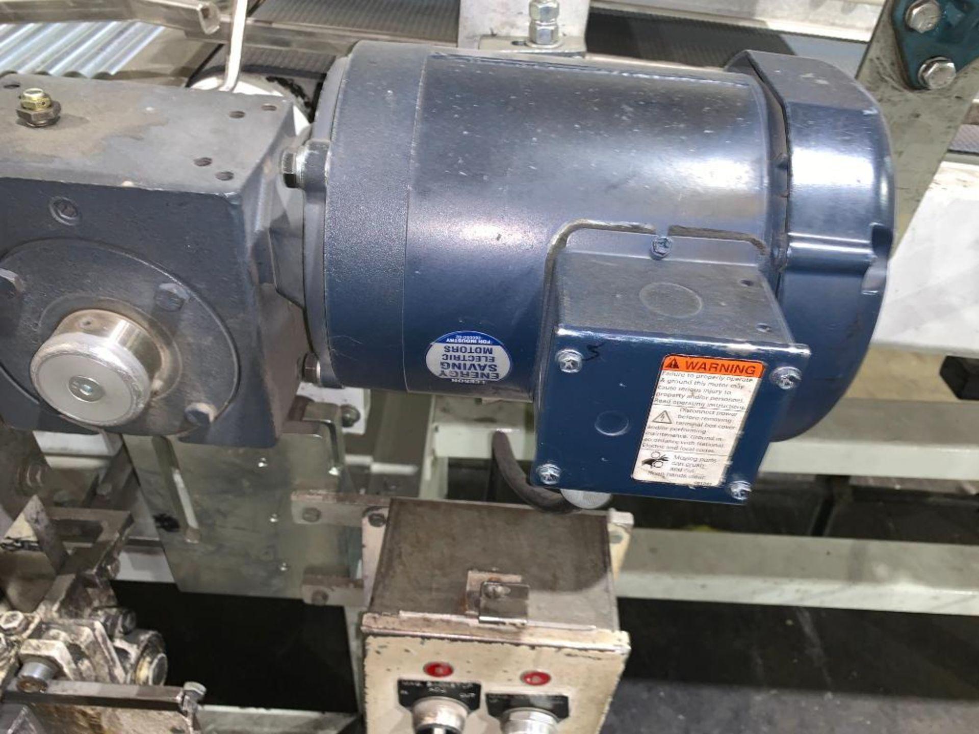 mild steel belt conveyor, 68 in. x 10 in., with box conditioner - Image 2 of 13