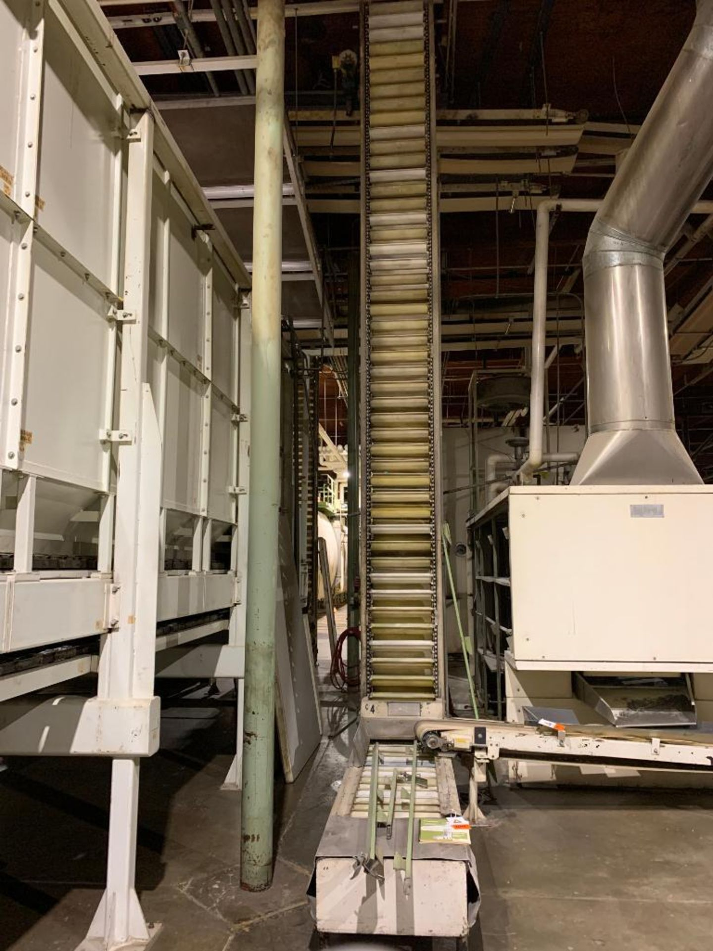 Aseeco overlapping bucket elevator, model ALS-0-18-CP - Image 4 of 12