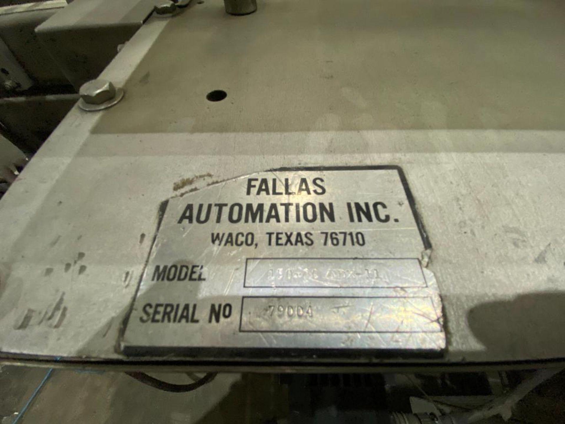 Fallas box erector/case packer - Image 2 of 29