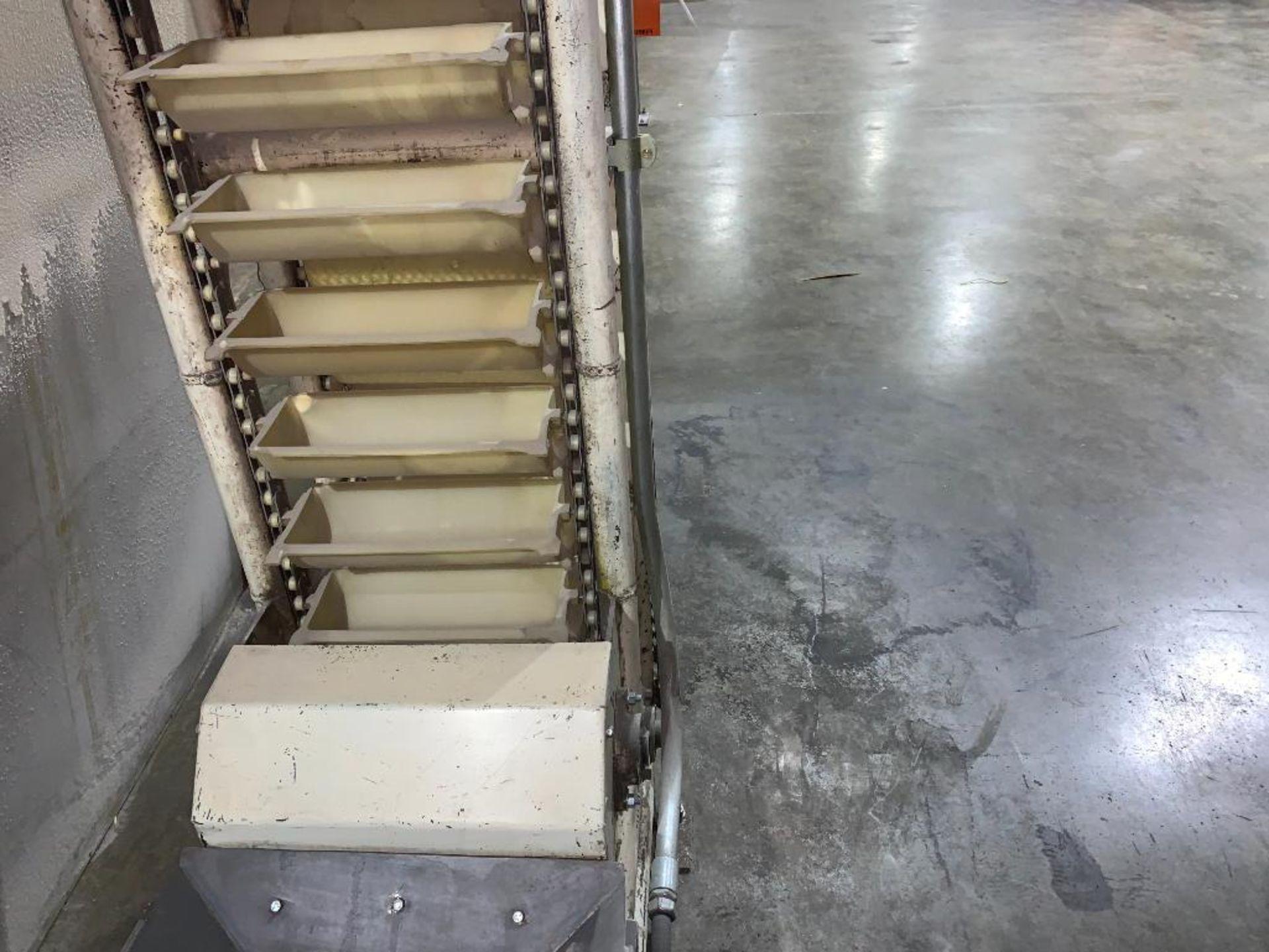 Aseeco overlapping bucket elevator - Image 3 of 11