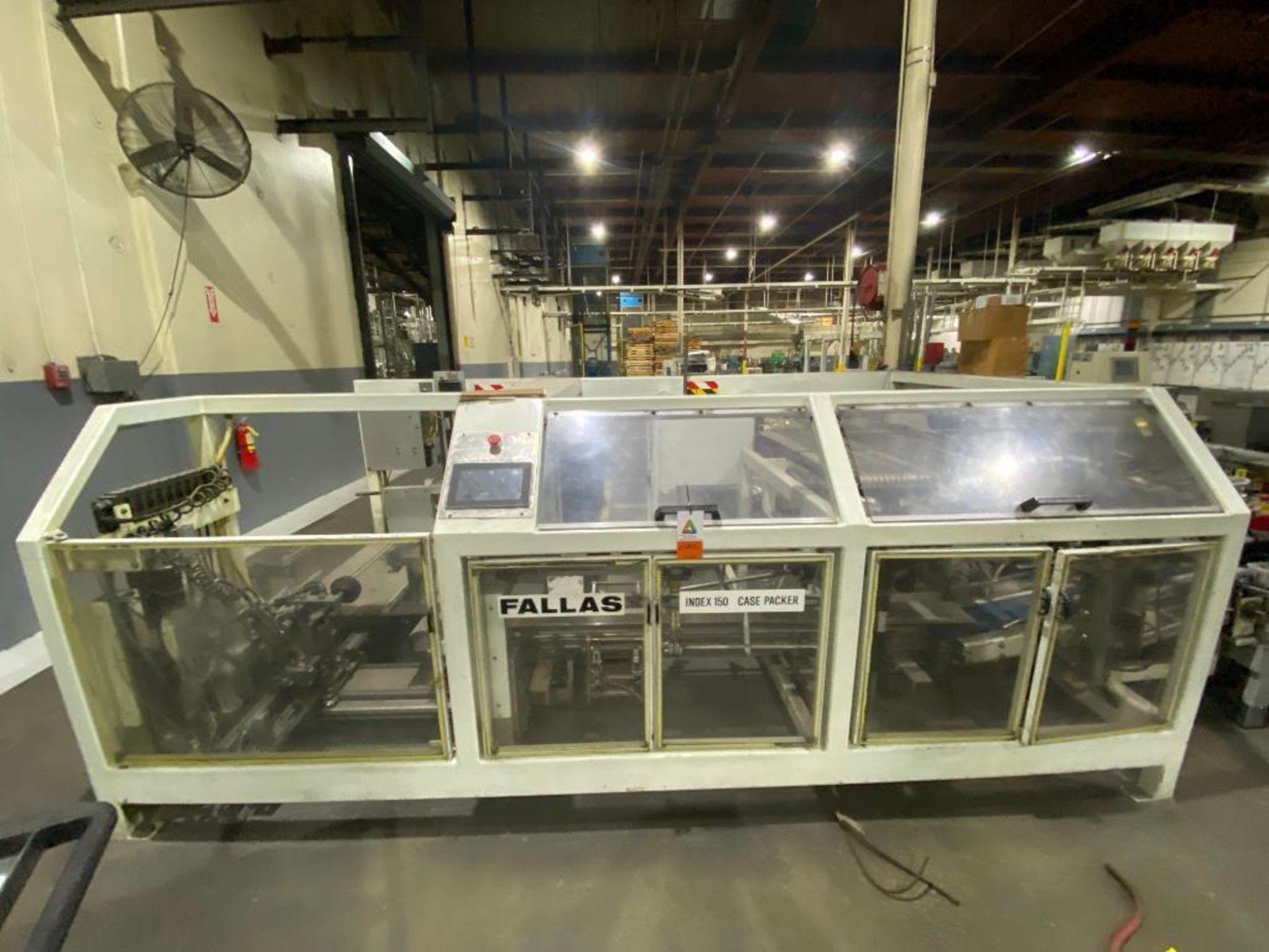 Fallas box erector/case packer
