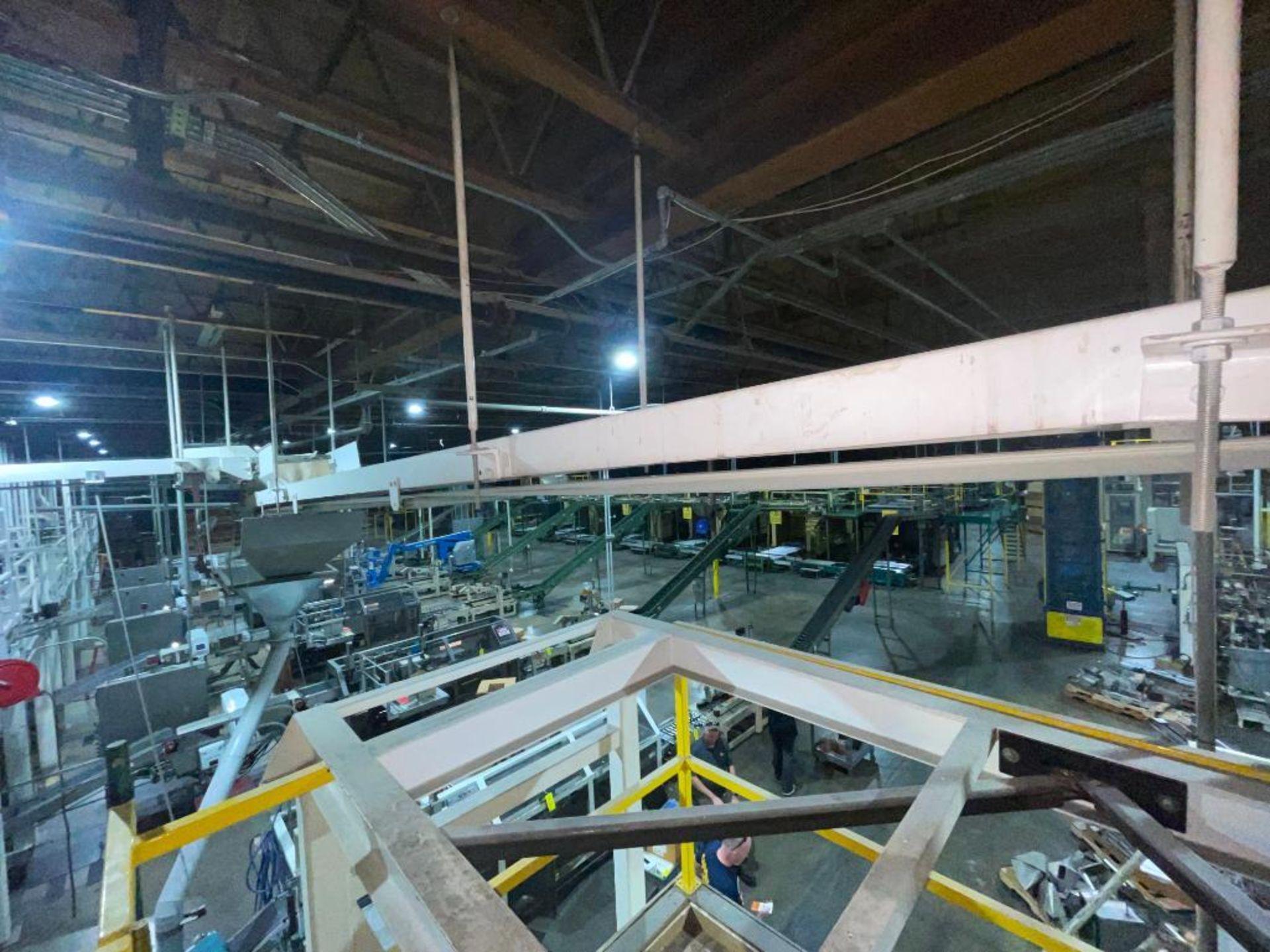 mild steel overhead belt conveyor - Image 6 of 10