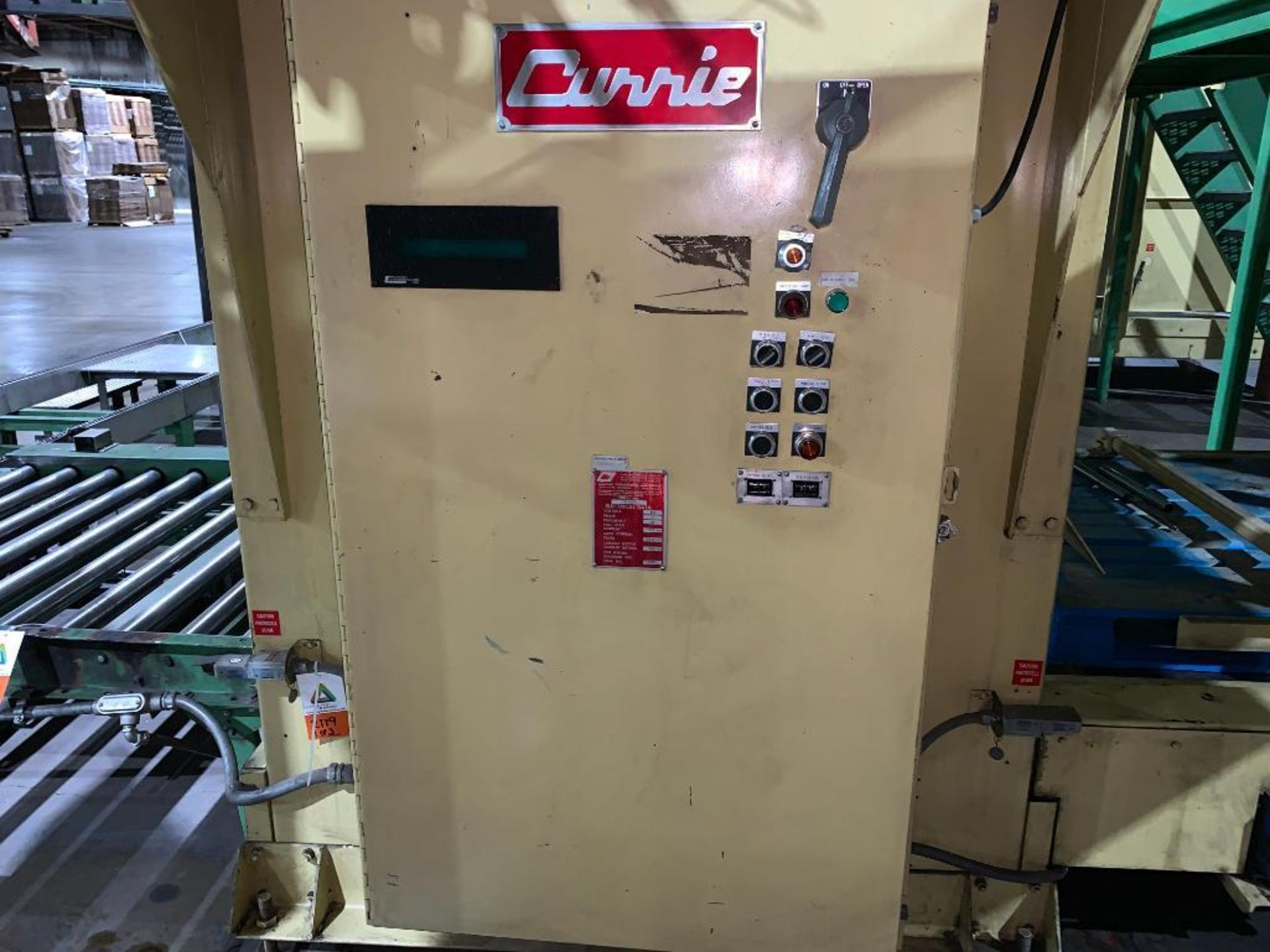 1992 Currie top to bottom palletizer, machine number LSP-5-1177 - Image 20 of 53