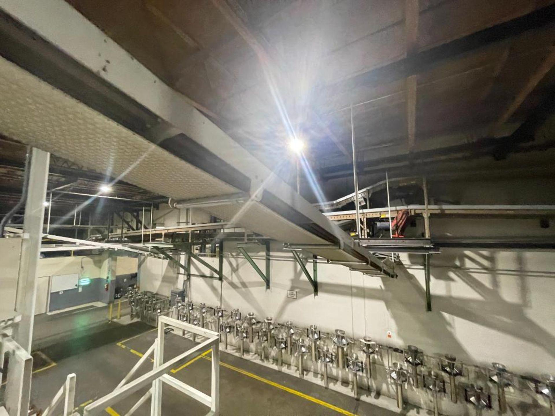 mild steel overhead belt conveyor - Image 5 of 12