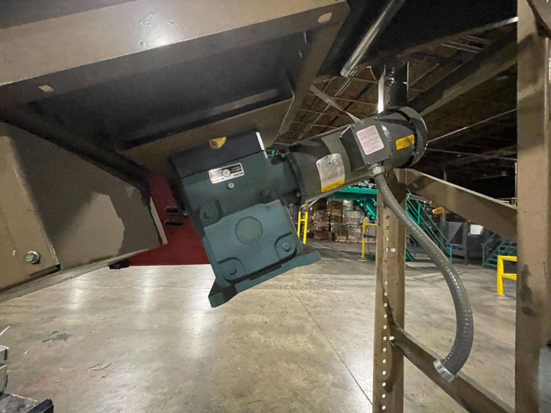 Buschman mild steel incline conveyor - Image 6 of 11