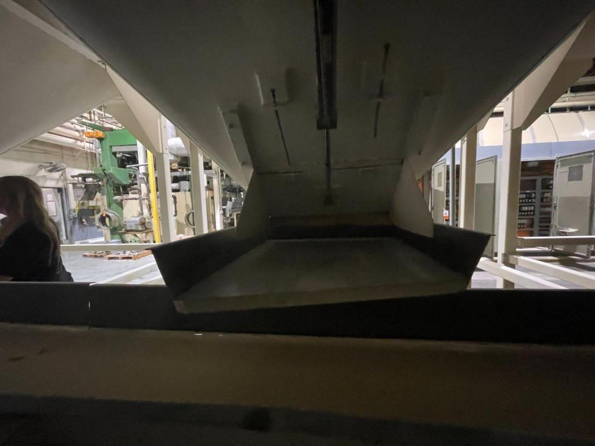 Aseeco mild steel cone bottom bulk storage bin - Image 17 of 31