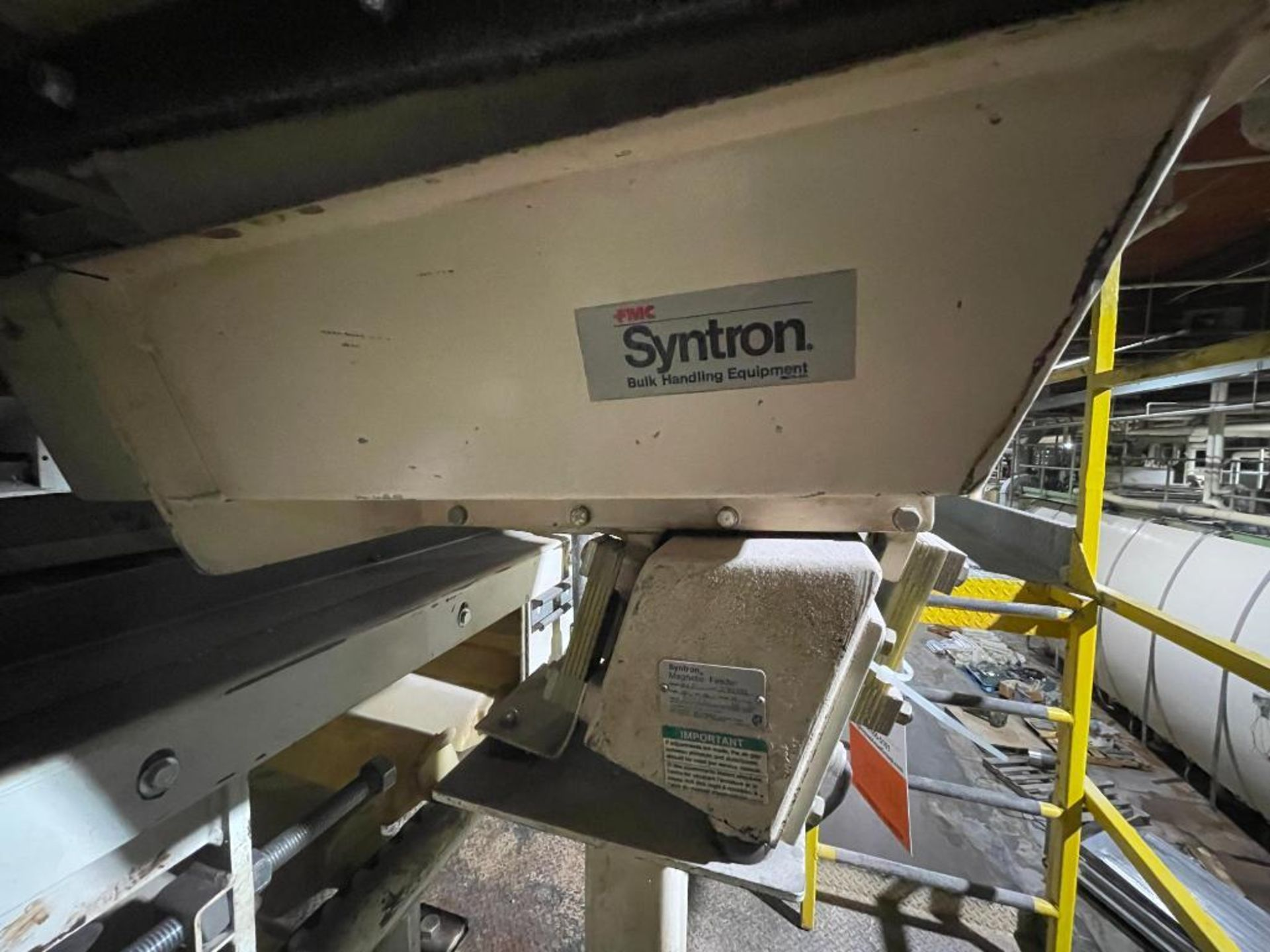 Syntron vibratory feeder - Image 2 of 4