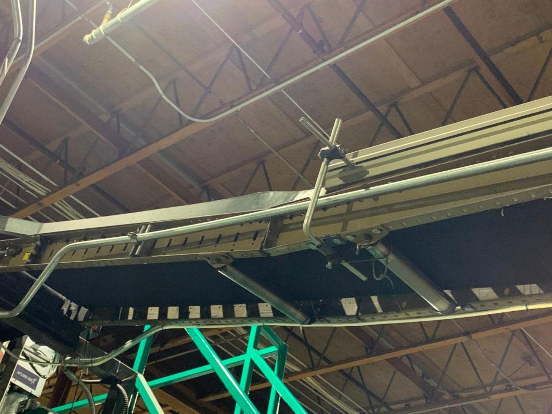 mild steel powered belt conveyor, decline - Image 4 of 14