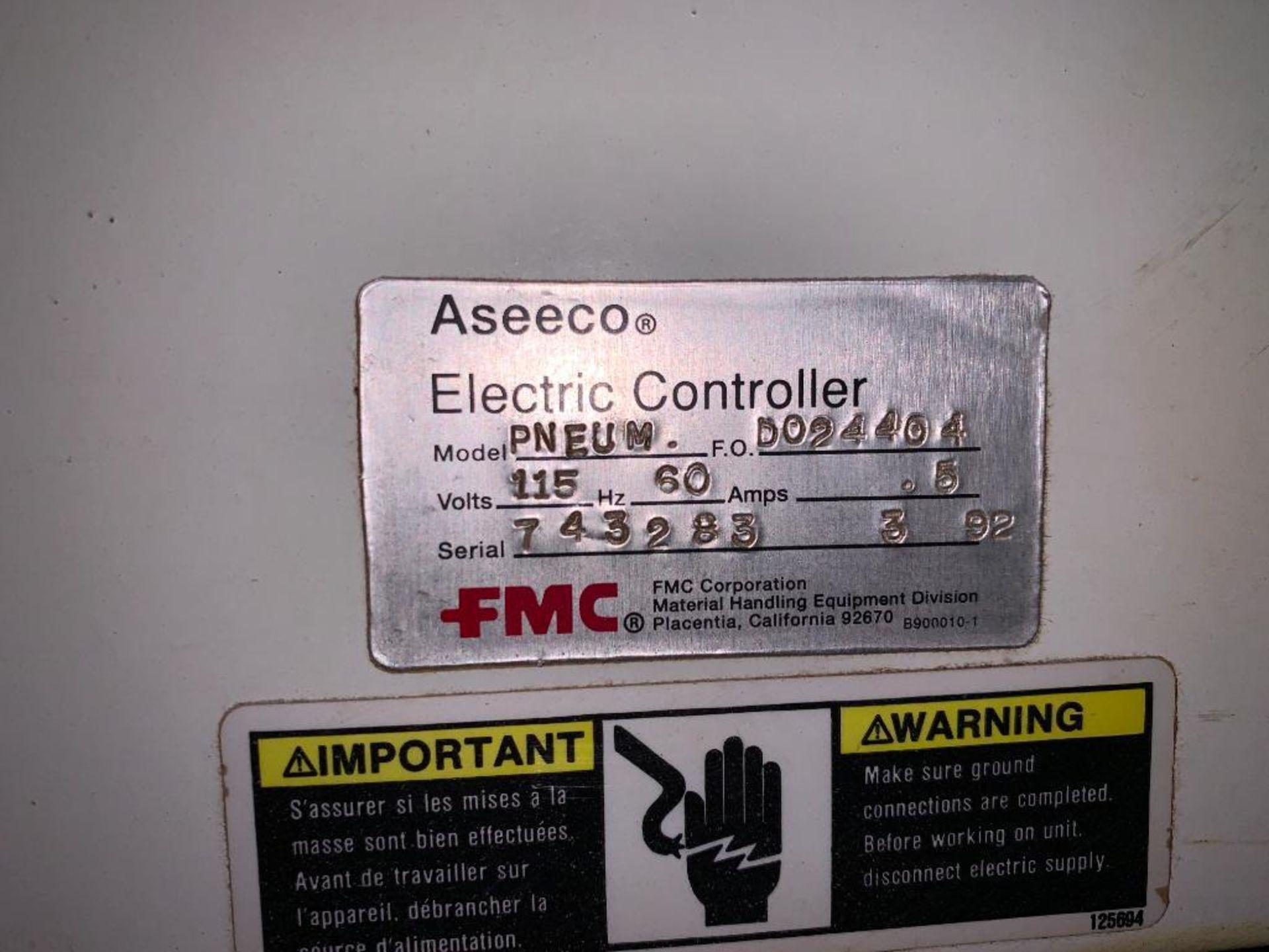 Aseeco mild steel cone bottom bulk storage bin - Image 22 of 25