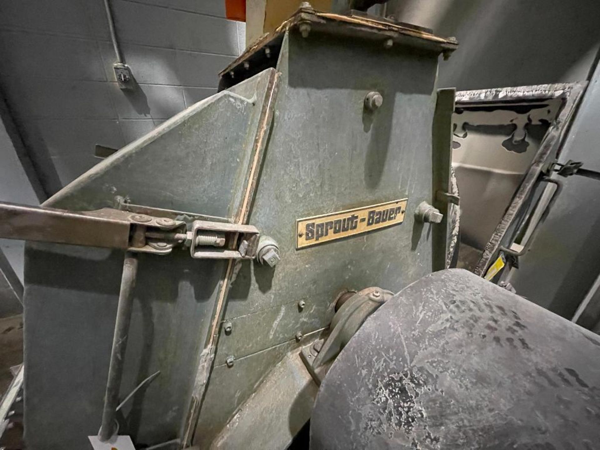 Sprout-Bauer hammermill, 100 hp - Image 2 of 25