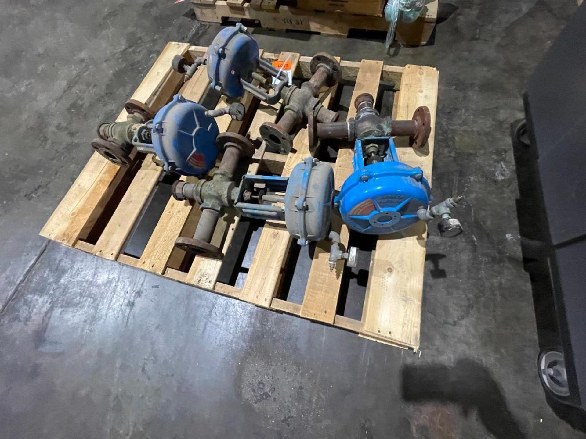 (4) steam valves - Image 3 of 4