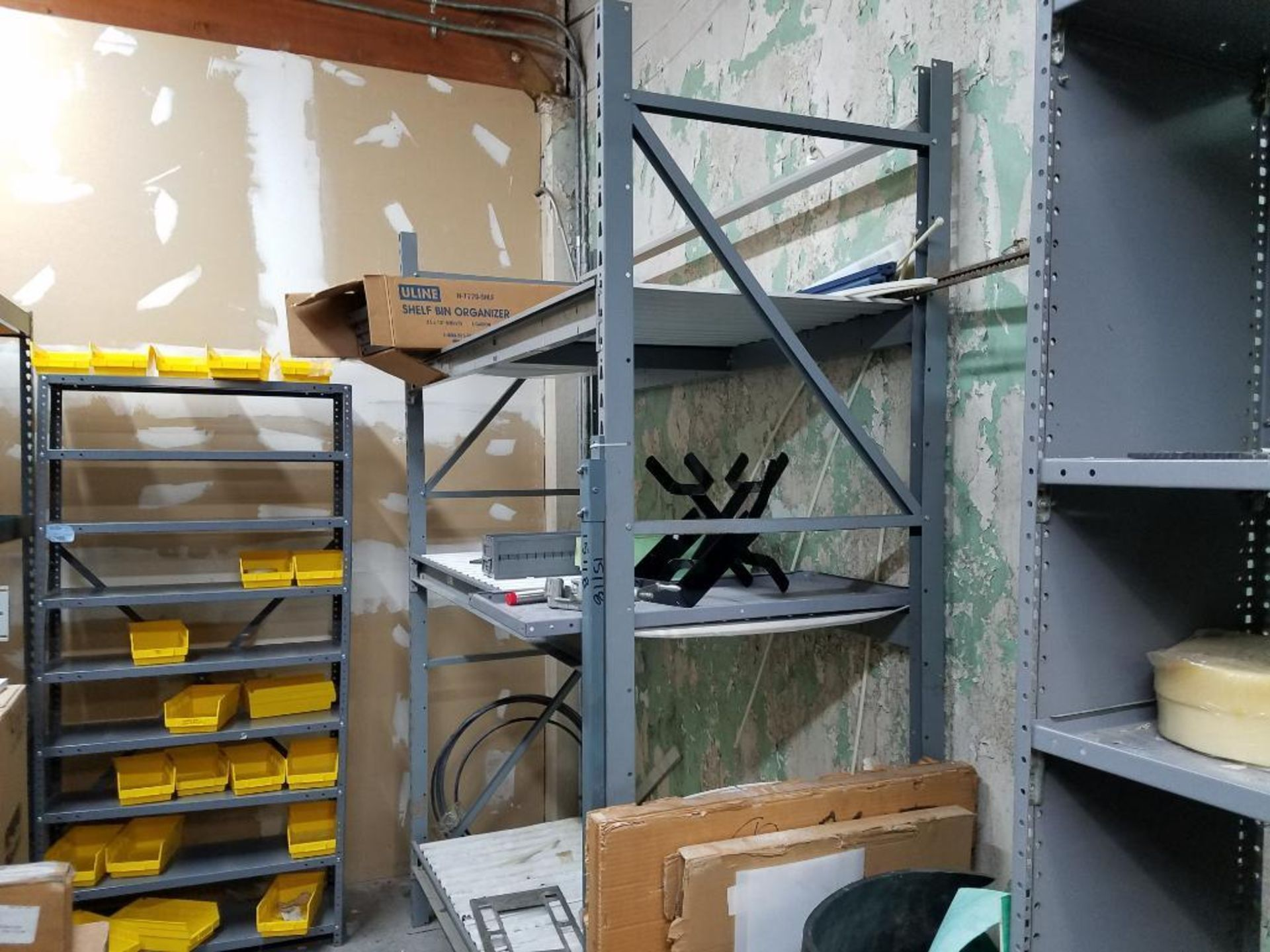 all shelving and storage units located in MRO room - Image 6 of 11
