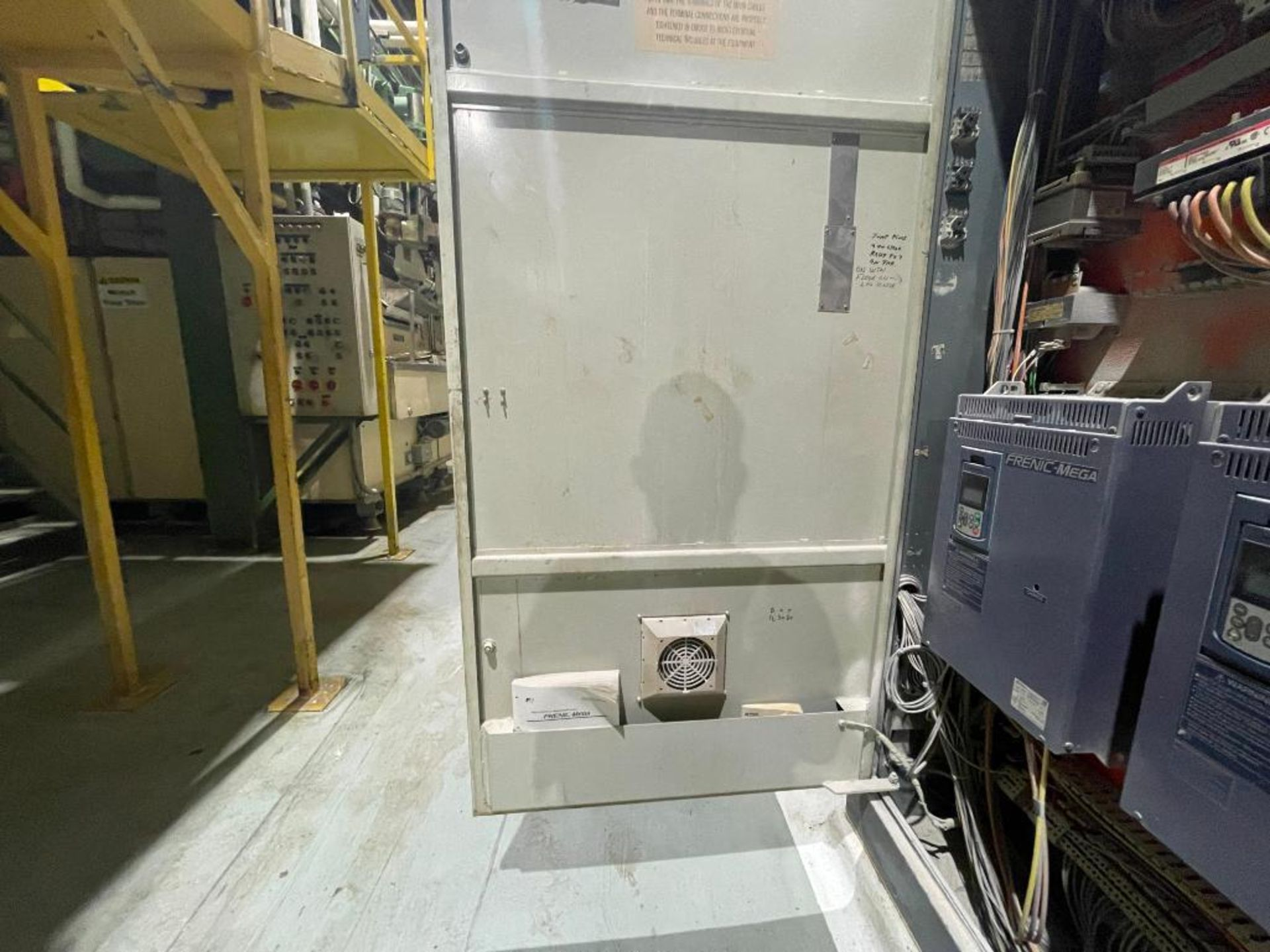 3-door cabinet with PLC and VFD's - Image 14 of 20
