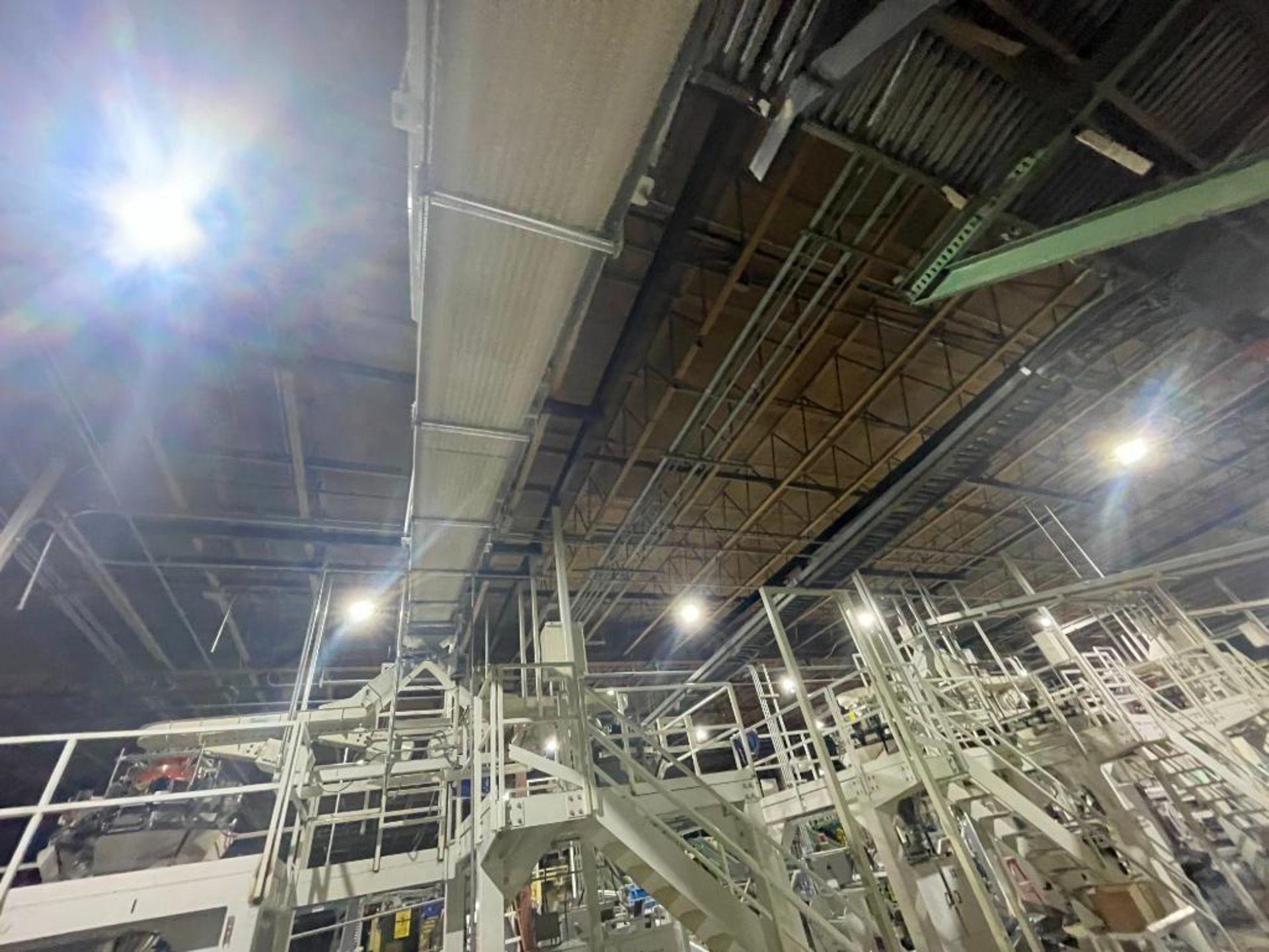 mild steel overhead belt conveyor - Image 3 of 12