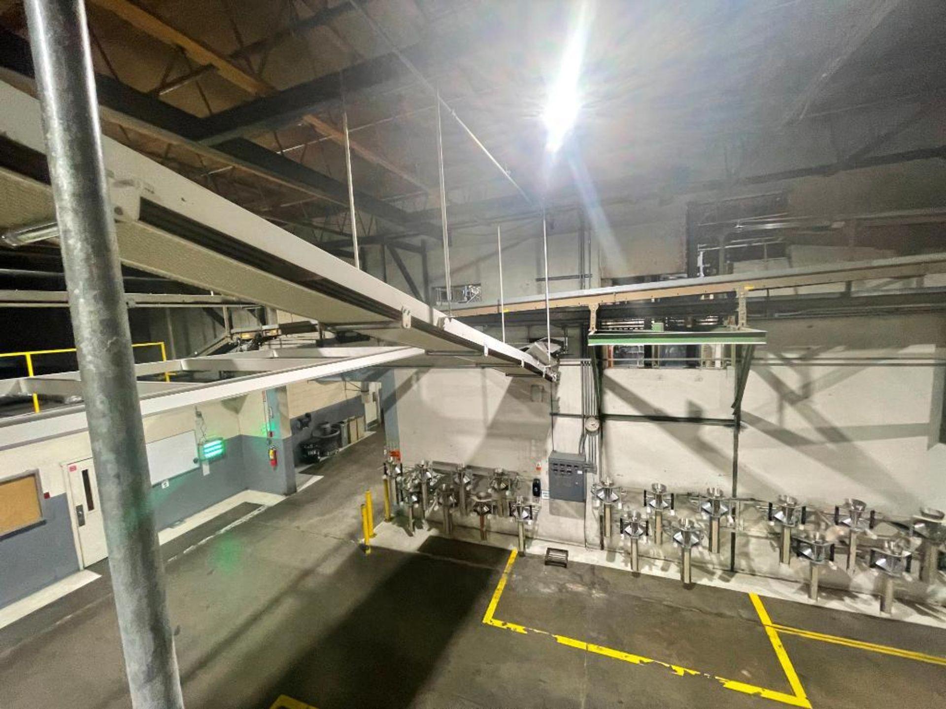 mild steel overhead belt conveyor - Image 6 of 8