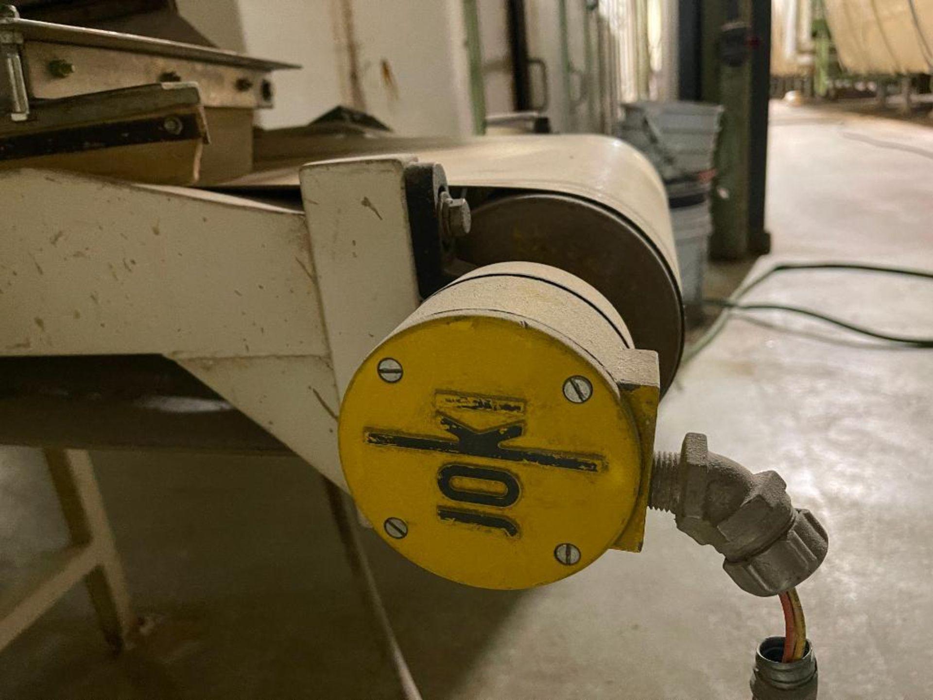 mild steel belt conveyor - Image 5 of 16