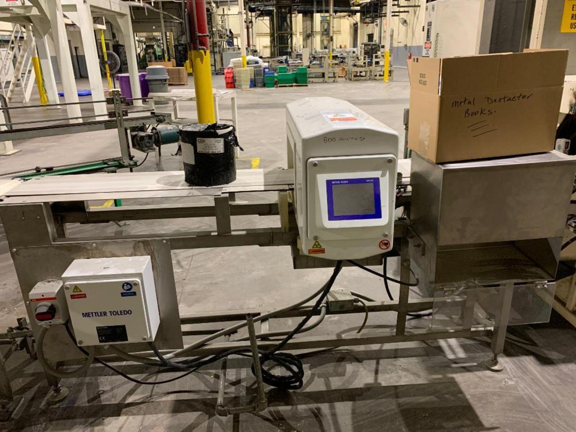 Mettler Toledo metal detector
