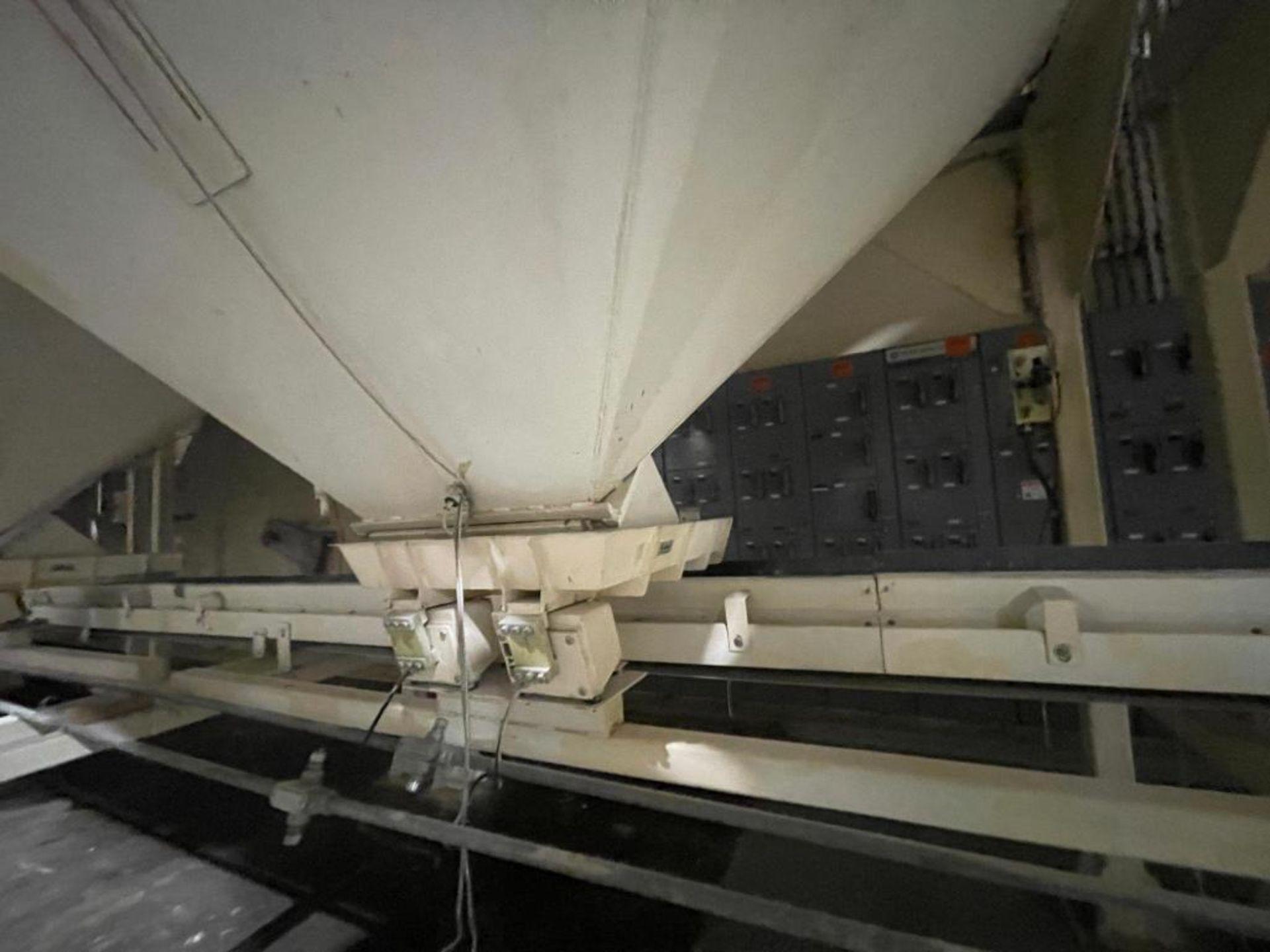 Aseeco mild steel cone bottom bulk storage bin - Image 15 of 31