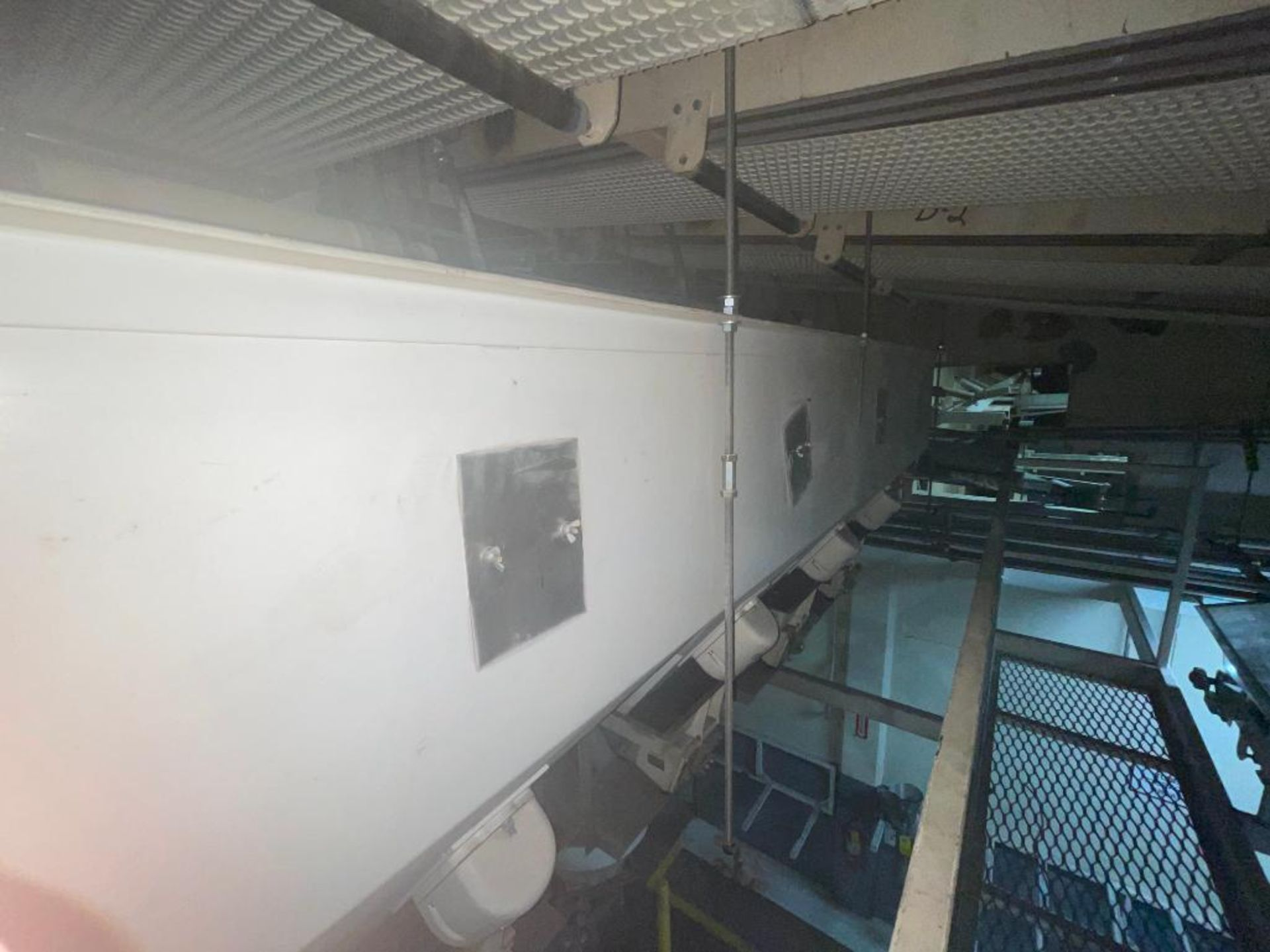 Aseeco 5-bin blending system with 5 Syntron vibratory feeders on bottom - Image 11 of 18