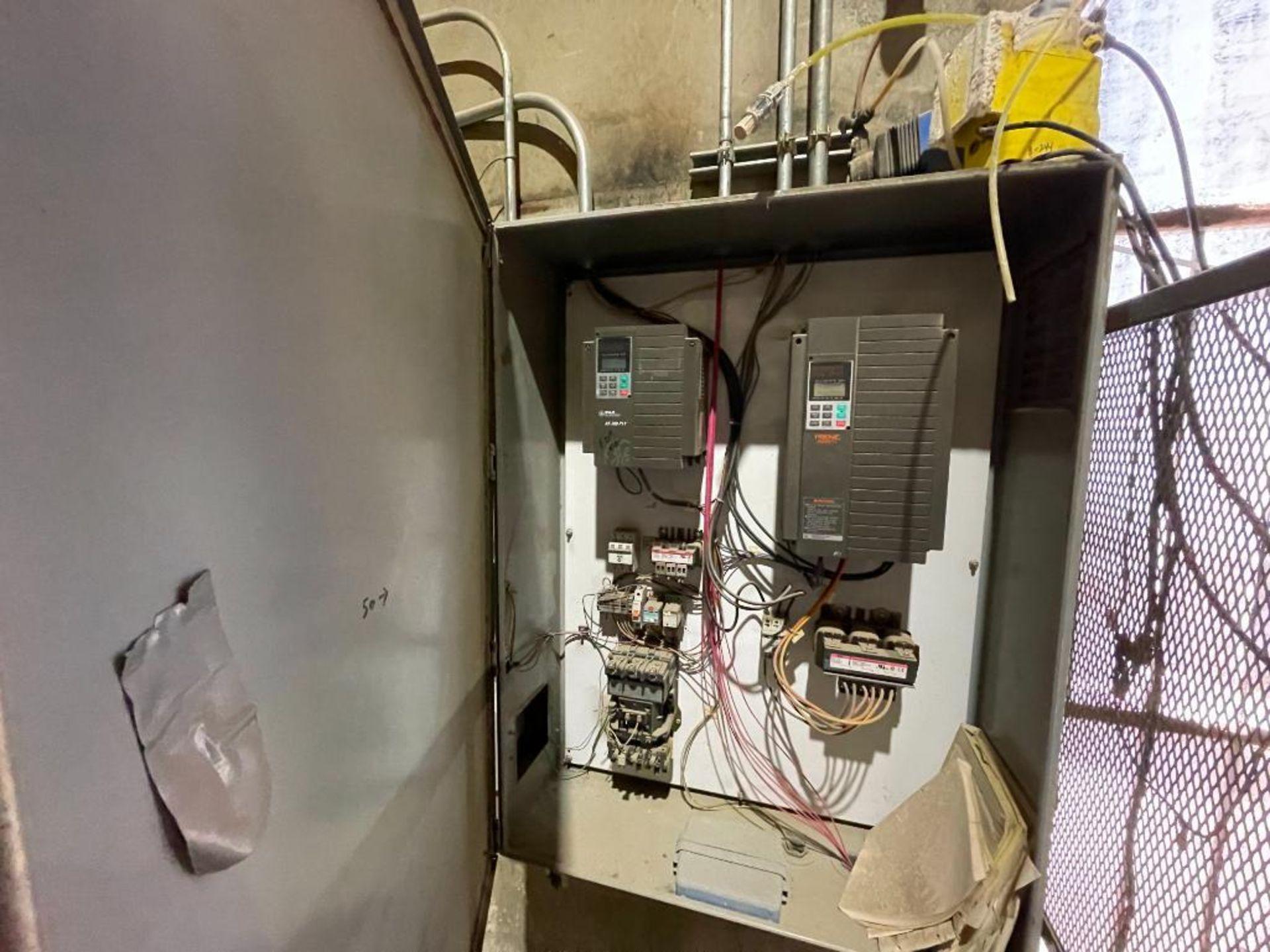 single door mild steel cabinet - Image 2 of 12