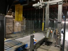 2008 Orion octopus style pallet wrapper, model MA-66