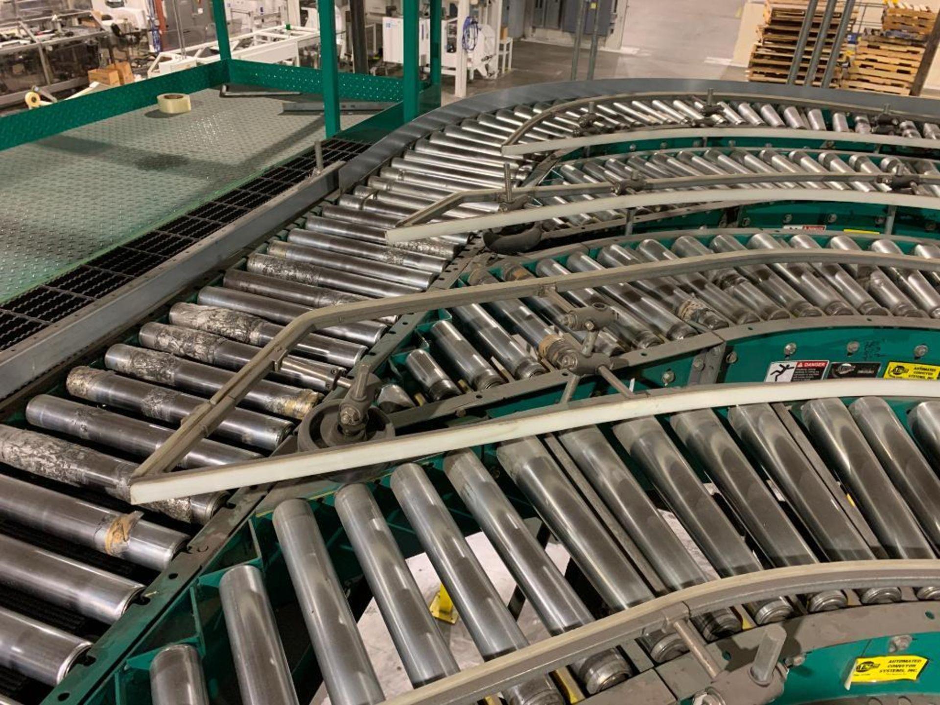 ACS power roller conveyor - Image 3 of 15
