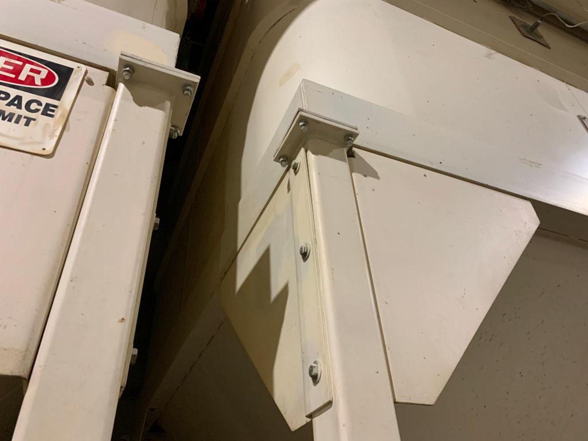 Aseeco mild steel cone bottom bulk storage bin - Image 14 of 25