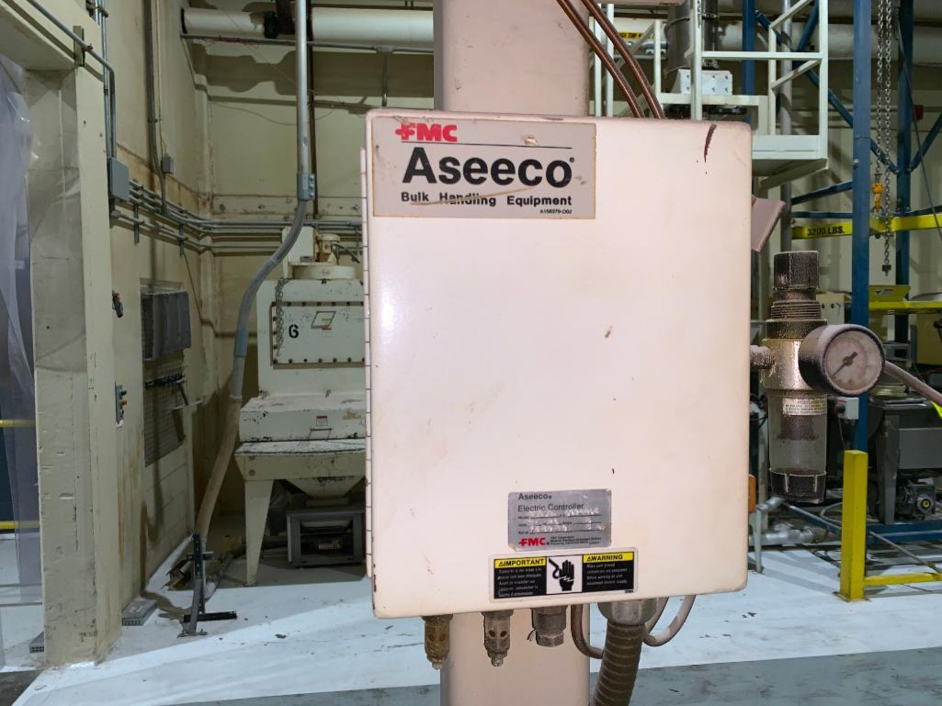 Aseeco mild steel cone bottom bulk storage bin - Image 11 of 16