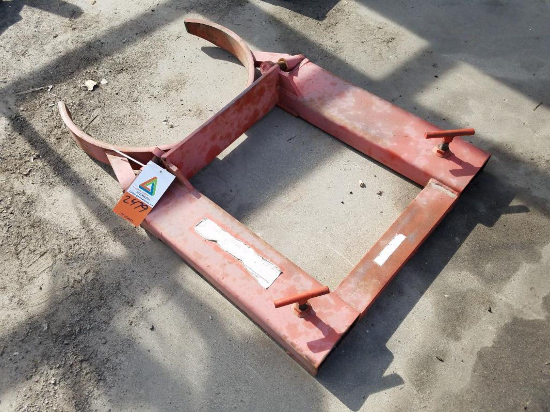 forklift barrel lift attachment