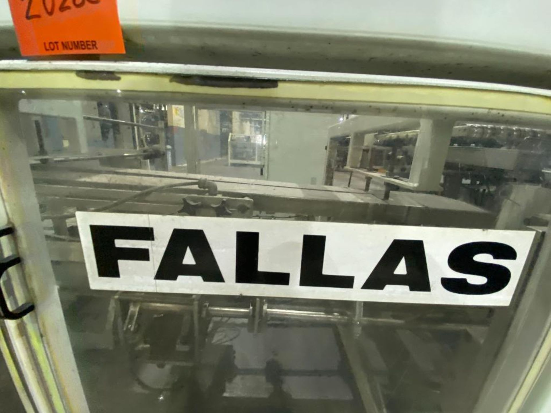 Fallas box erector/case packer - Image 2 of 39