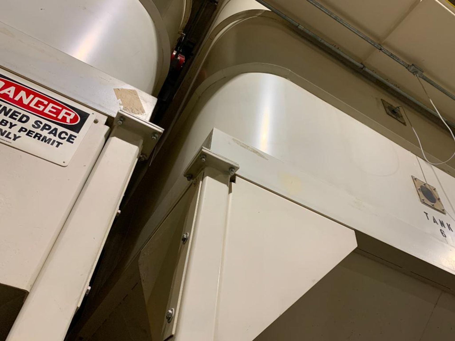 Aseeco mild steel cone bottom bulk storage bin - Image 14 of 27