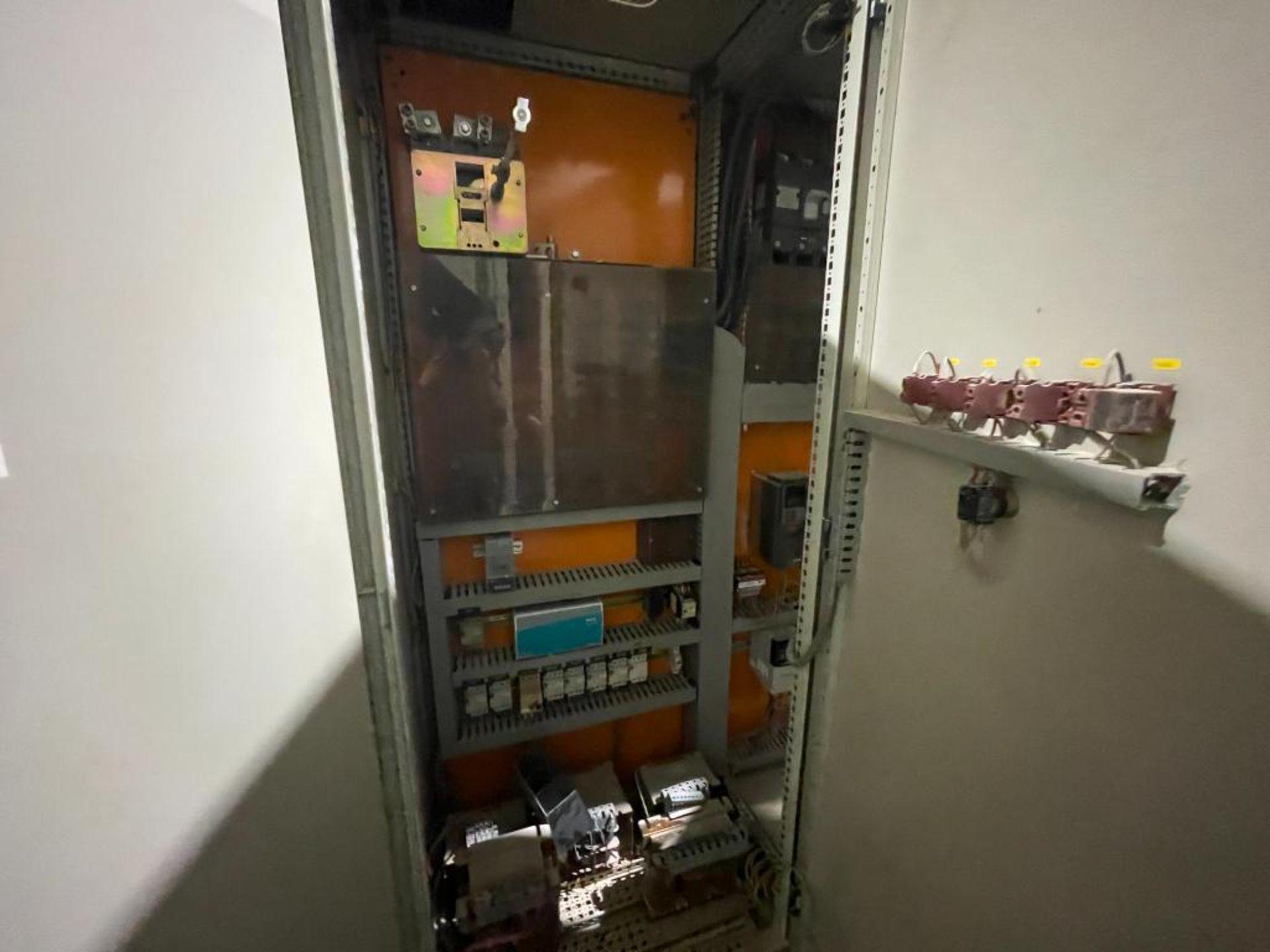 7-door mild steel air conditioned control cabinet, 5-VFD's - Image 12 of 43