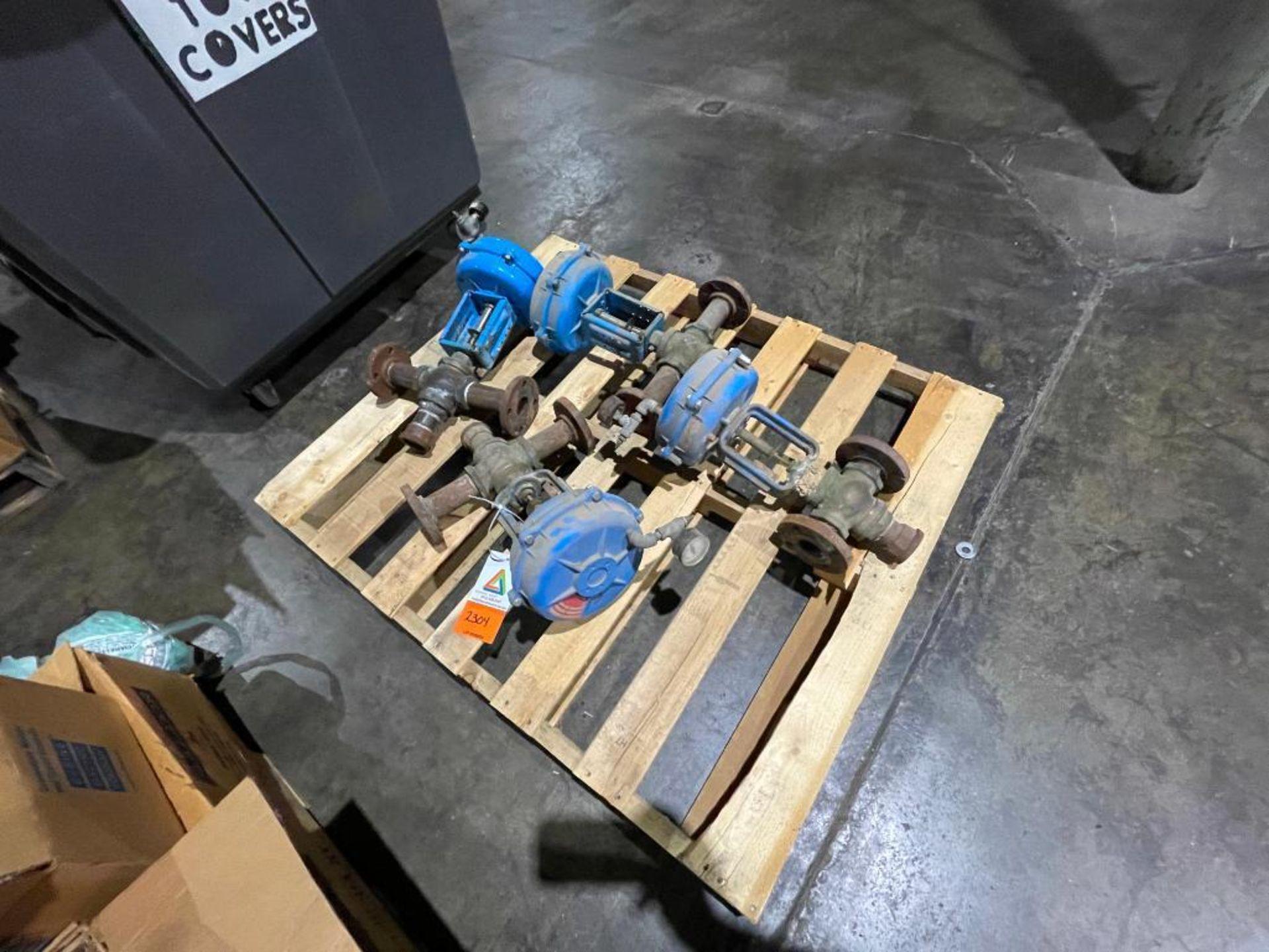 (4) steam valves - Image 2 of 4