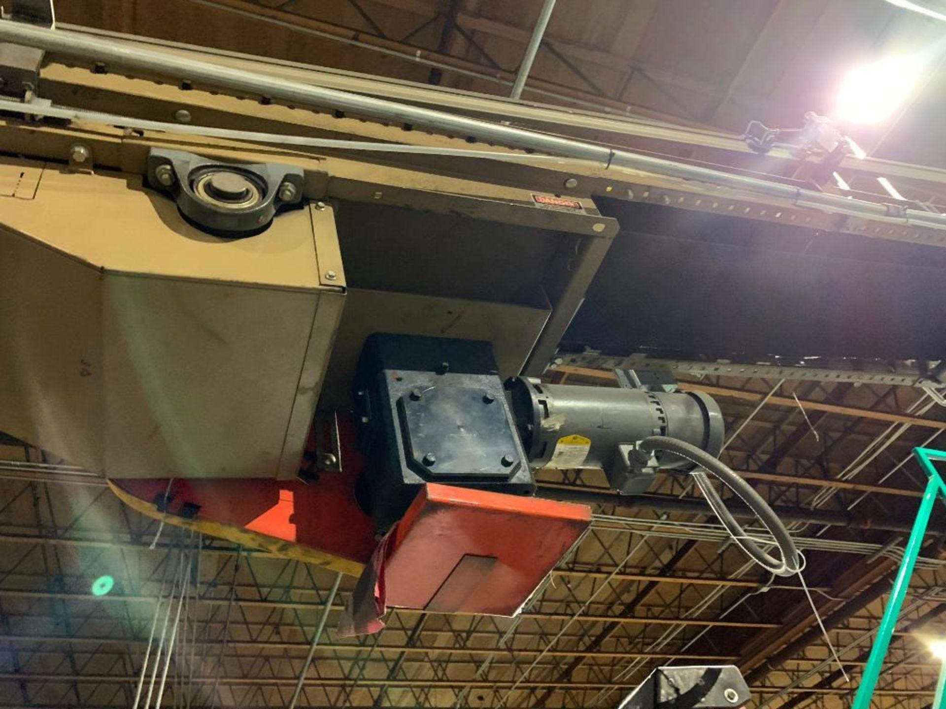 mild steel powered belt conveyor, decline - Image 12 of 14