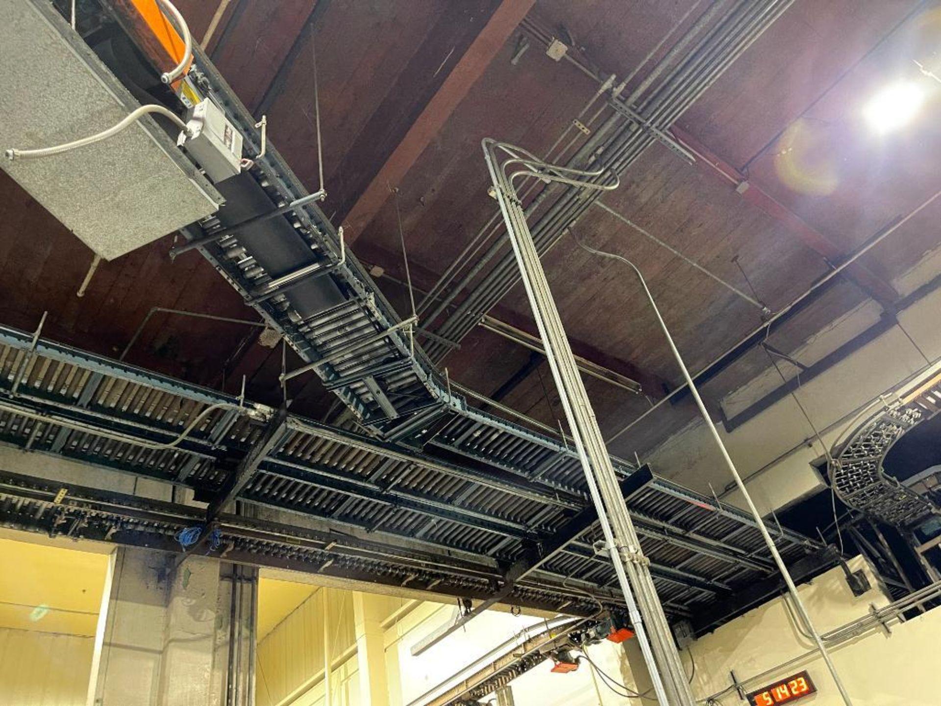 overhead power case conveyor - Image 5 of 9