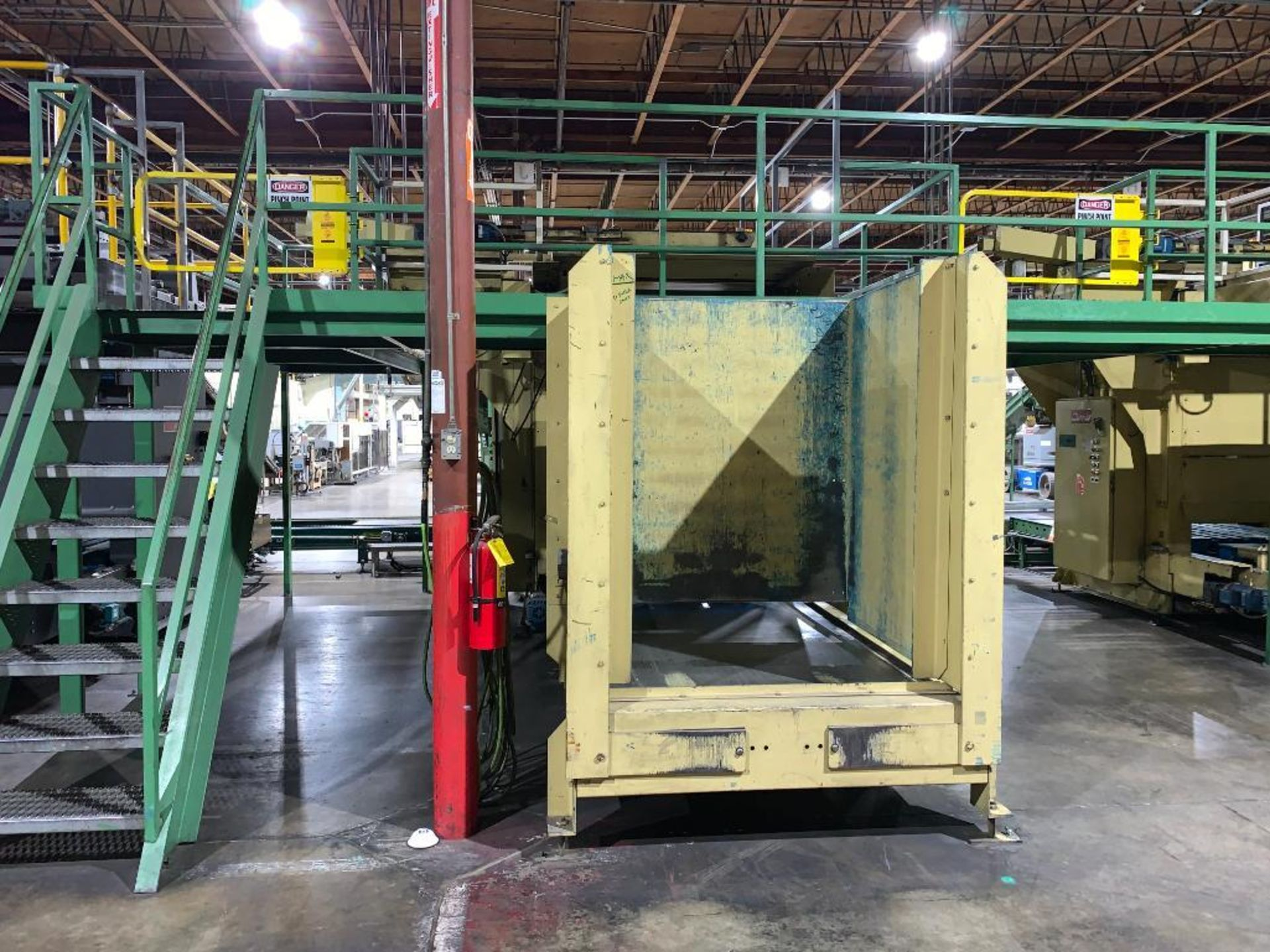 1992 Currie top to bottom palletizer, machine number LSP-5-1176 - Image 2 of 56