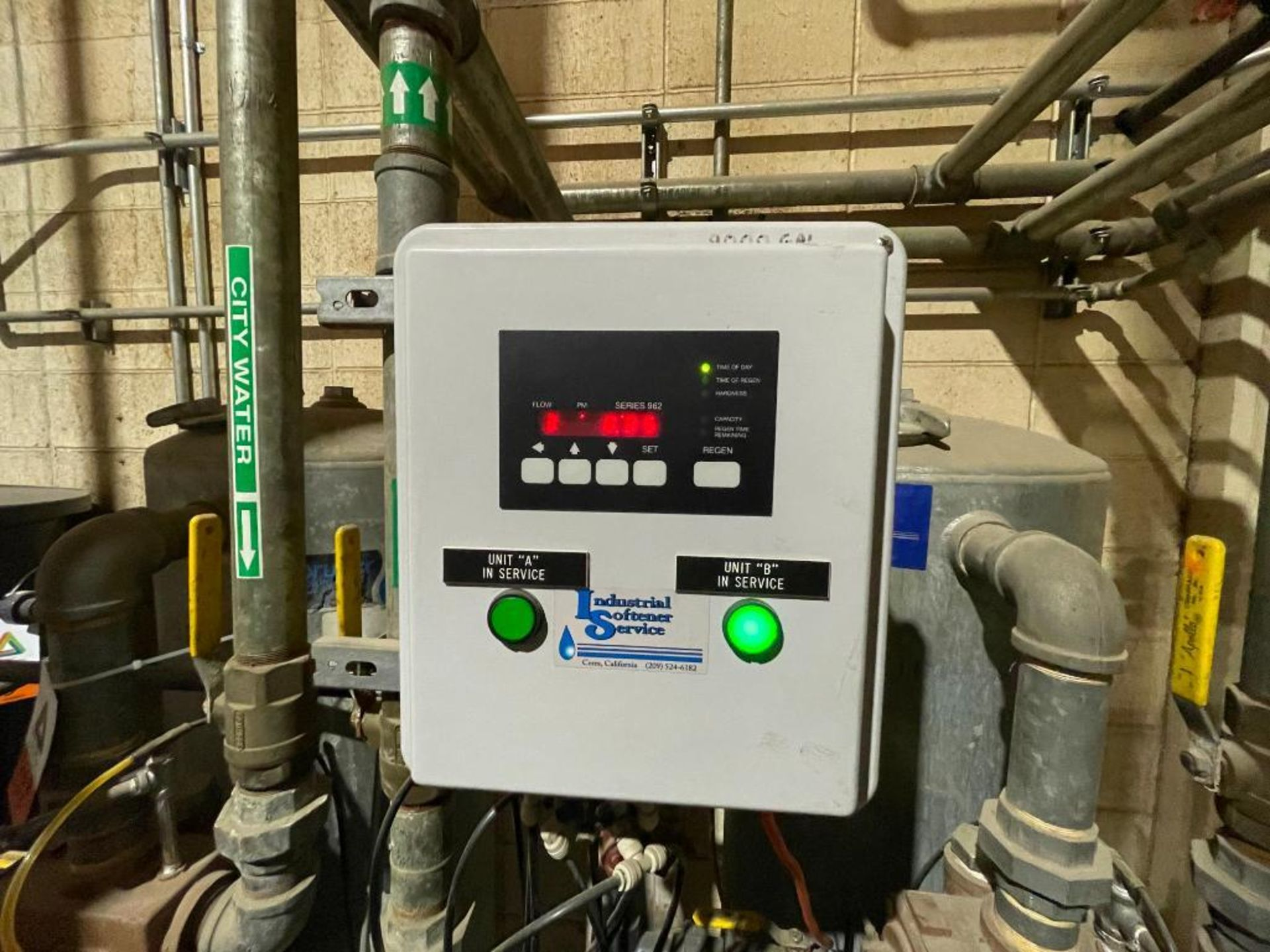 3-tank industrial water softener - Image 5 of 11