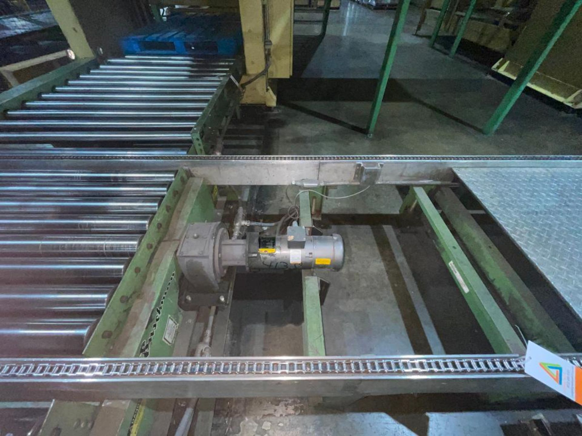 Buschman full pallet conveyor - Image 7 of 12