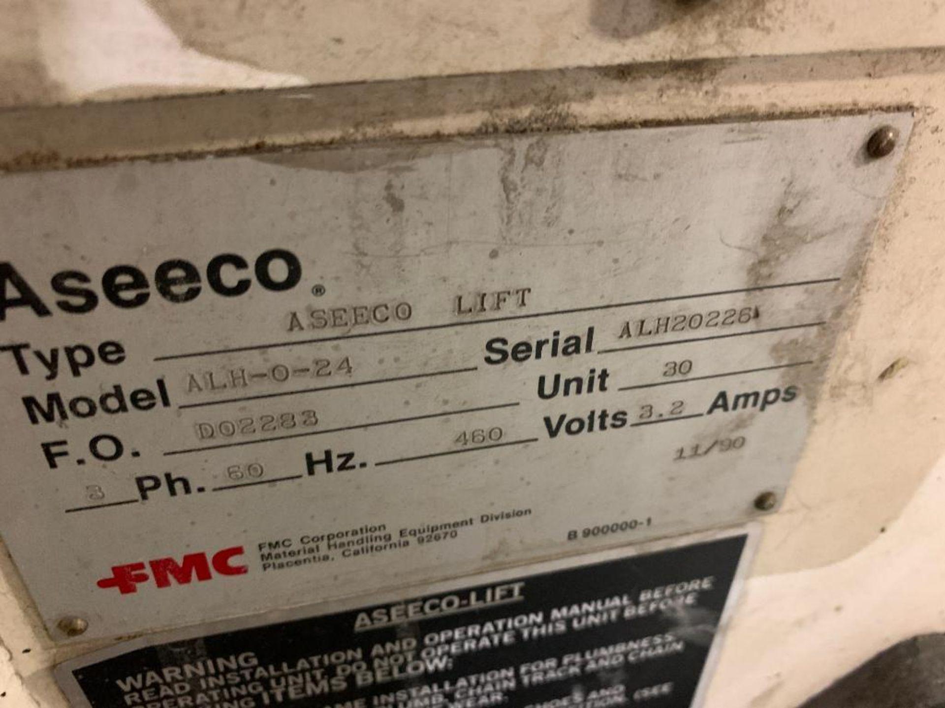 1992 Aseeco horizontal bucket elevator, model ALH-0-24-CP - Image 3 of 18