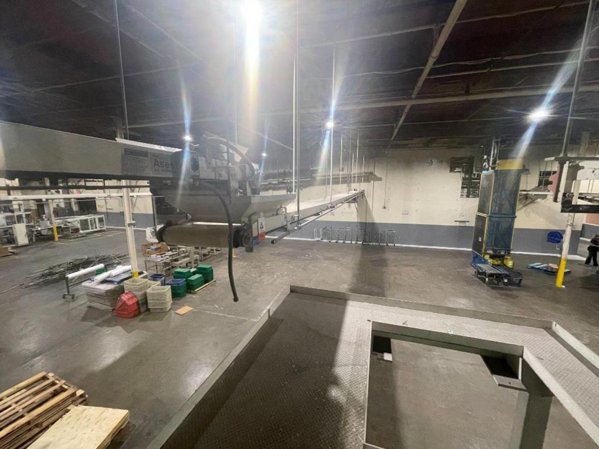 4 Aseeco mild steel conveyors