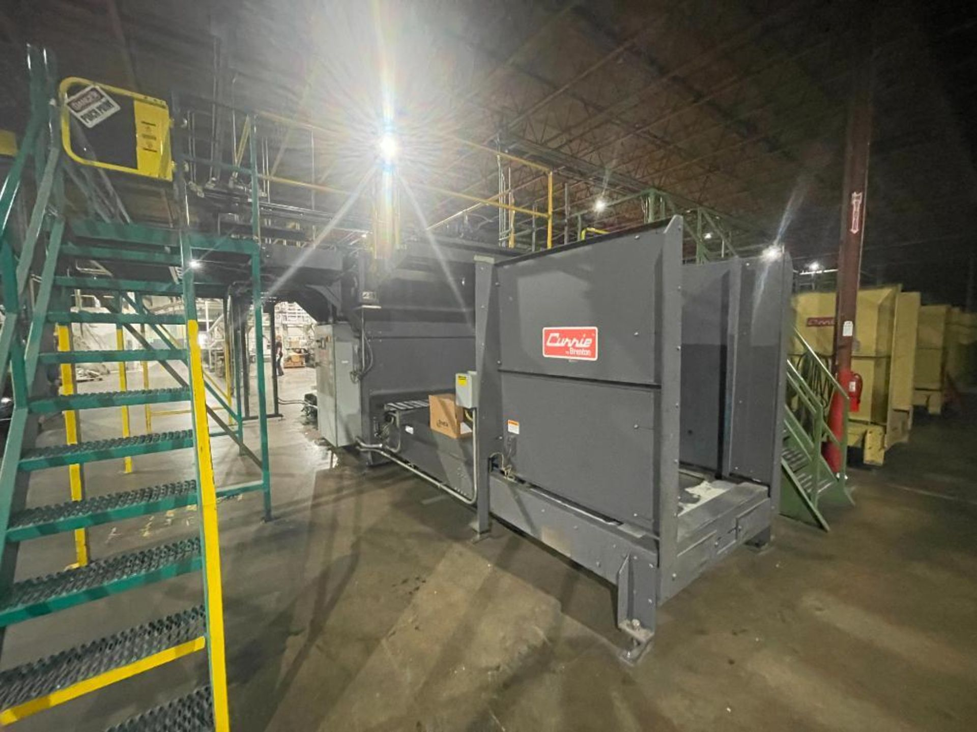 2008 Currie top to bottom palletizer, model PALLETIZER, sn 3348 - Image 3 of 28