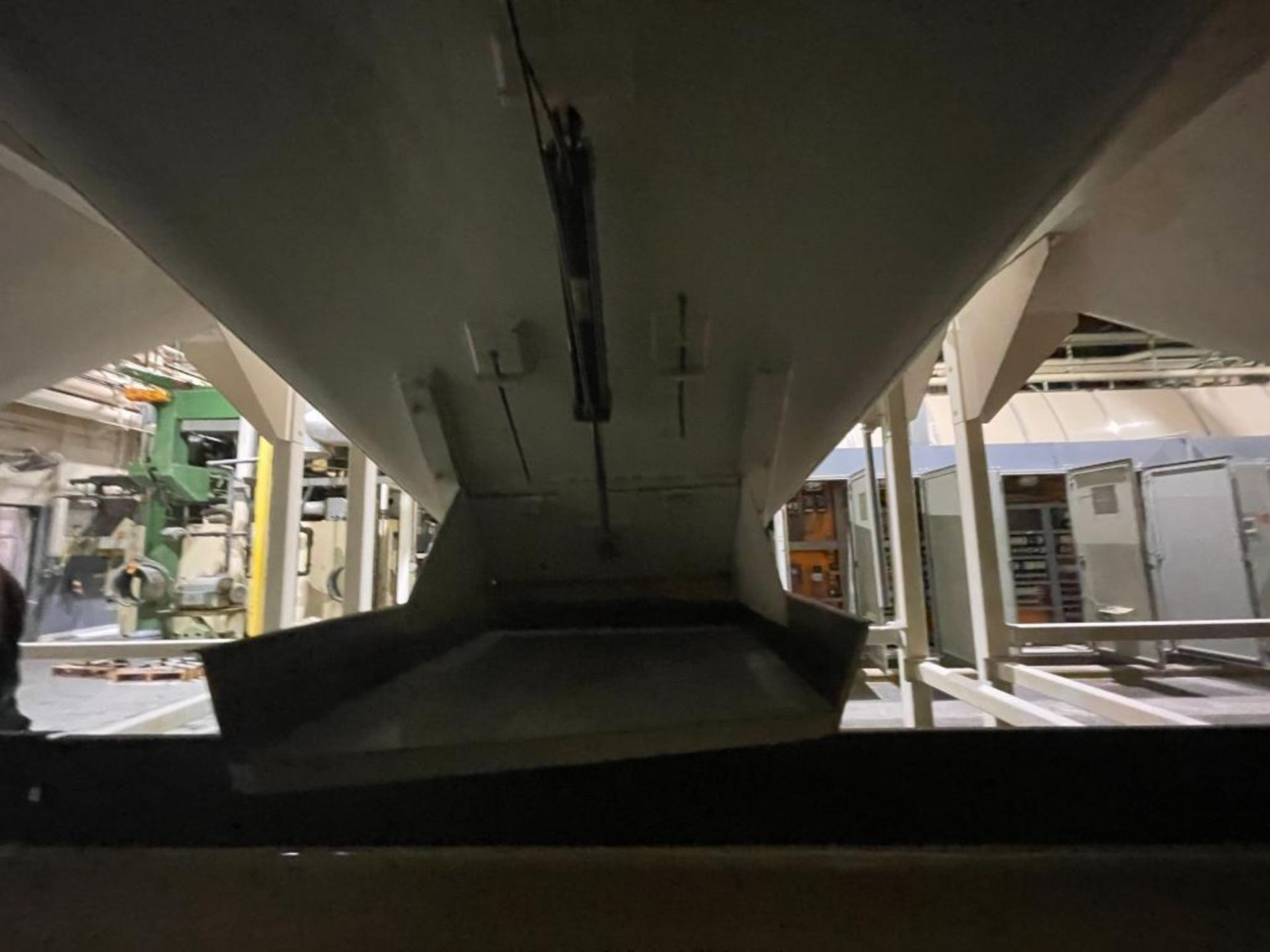 Aseeco mild steel cone bottom bulk storage bin - Image 18 of 31