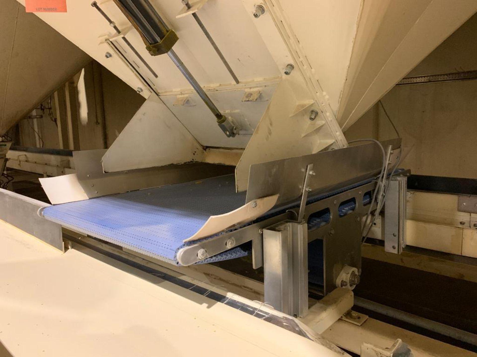Aseeco mild steel cone bottom bulk storage bin - Image 10 of 19